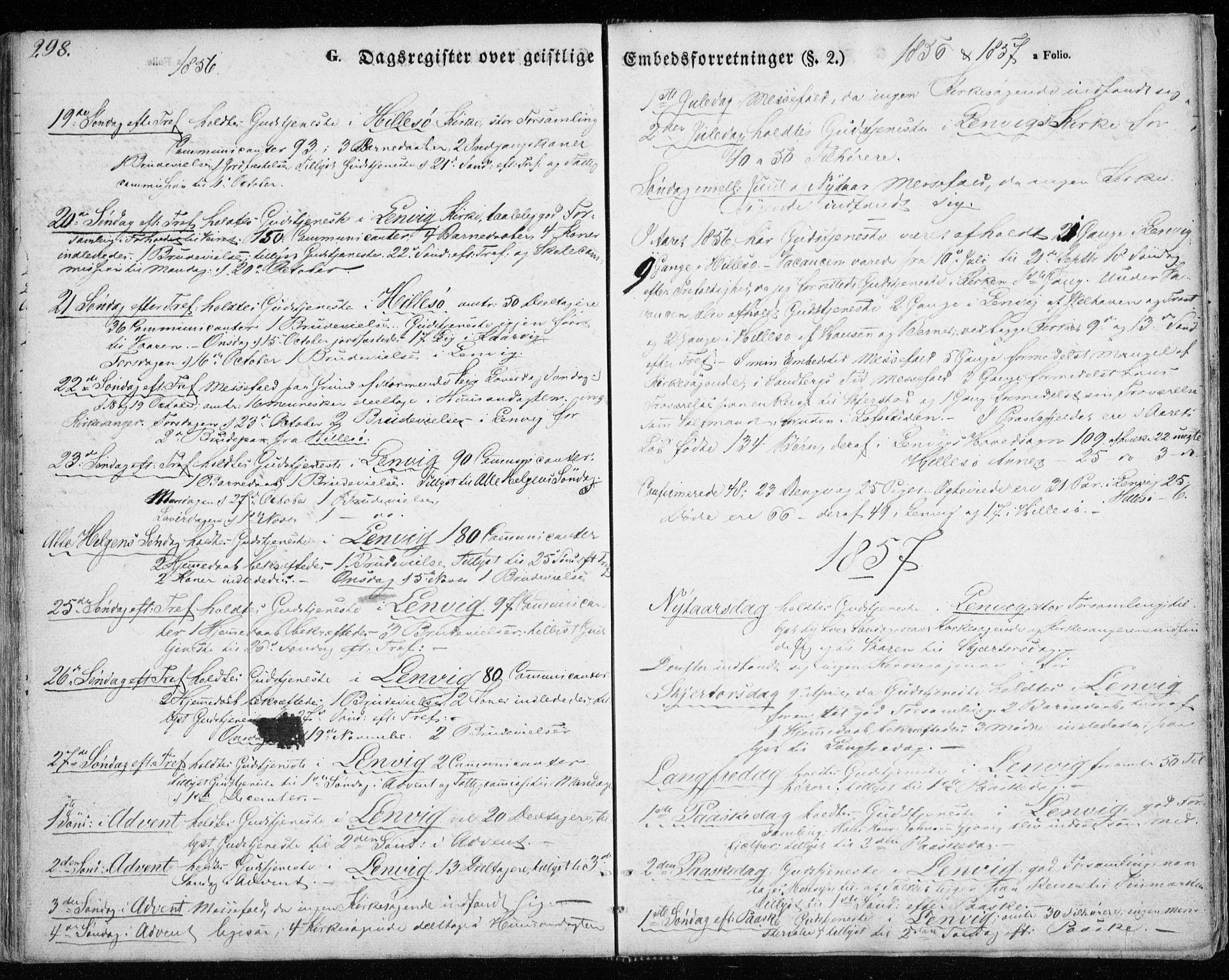 SATØ, Lenvik sokneprestembete, H/Ha: Ministerialbok nr. 7, 1855-1865, s. 298