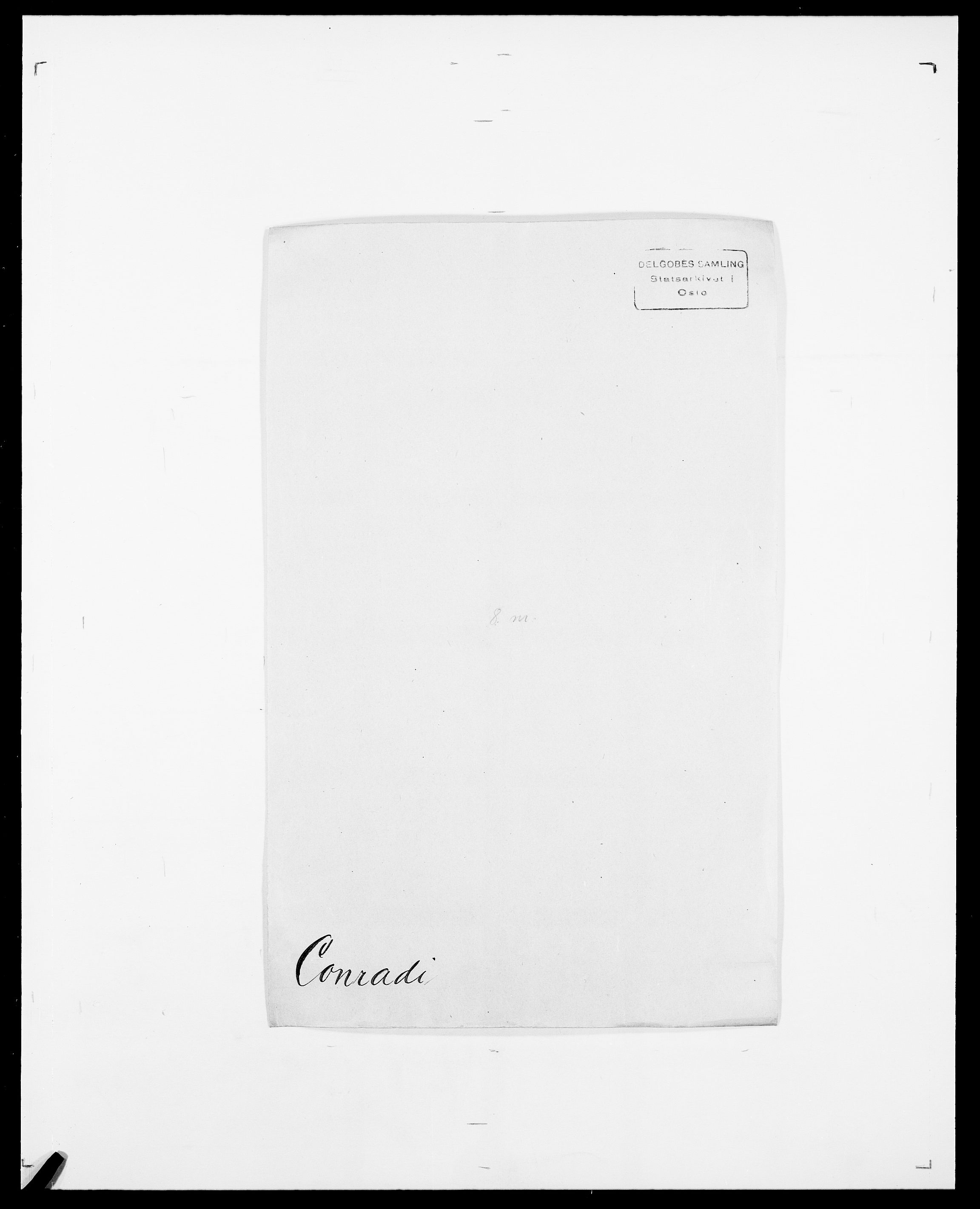 SAO, Delgobe, Charles Antoine - samling, D/Da/L0008: Capjon - Dagenbolt, s. 509