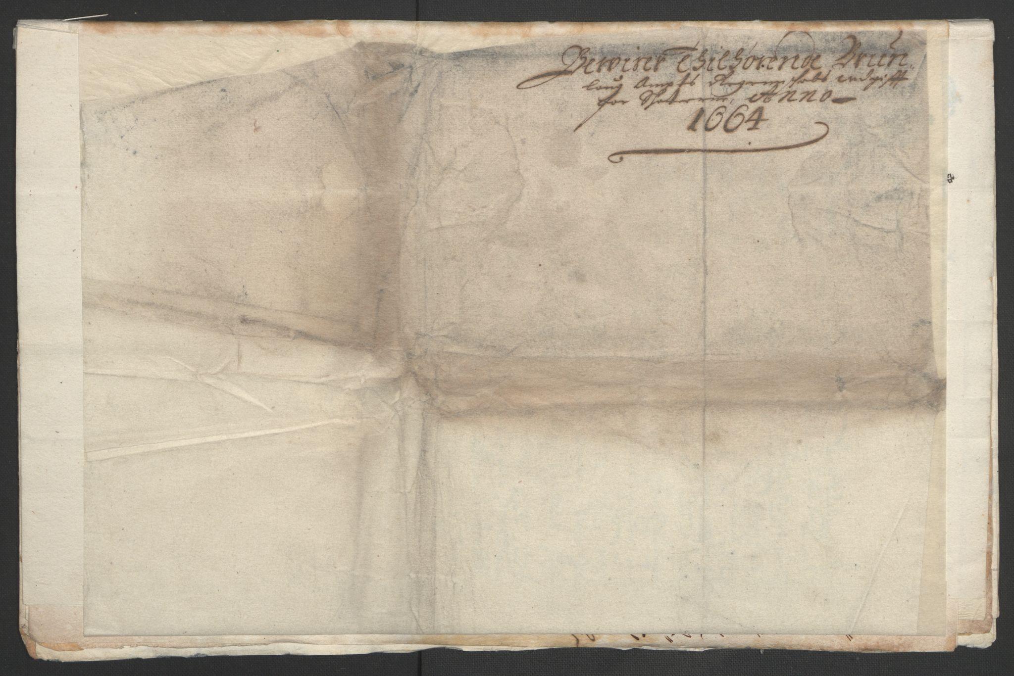 RA, Rentekammeret inntil 1814, Reviderte regnskaper, Fogderegnskap, R33/L1963: Fogderegnskap Larvik grevskap, 1662-1664, s. 198