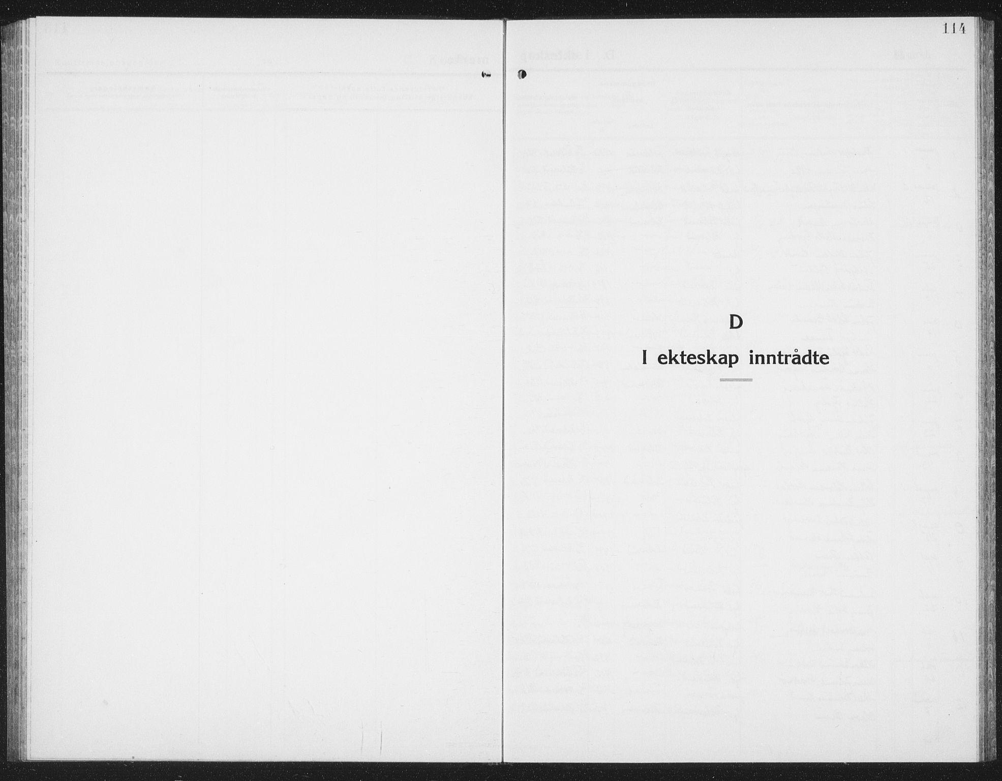 SAT, Ministerialprotokoller, klokkerbøker og fødselsregistre - Nord-Trøndelag, 780/L0654: Klokkerbok nr. 780C06, 1928-1942, s. 114