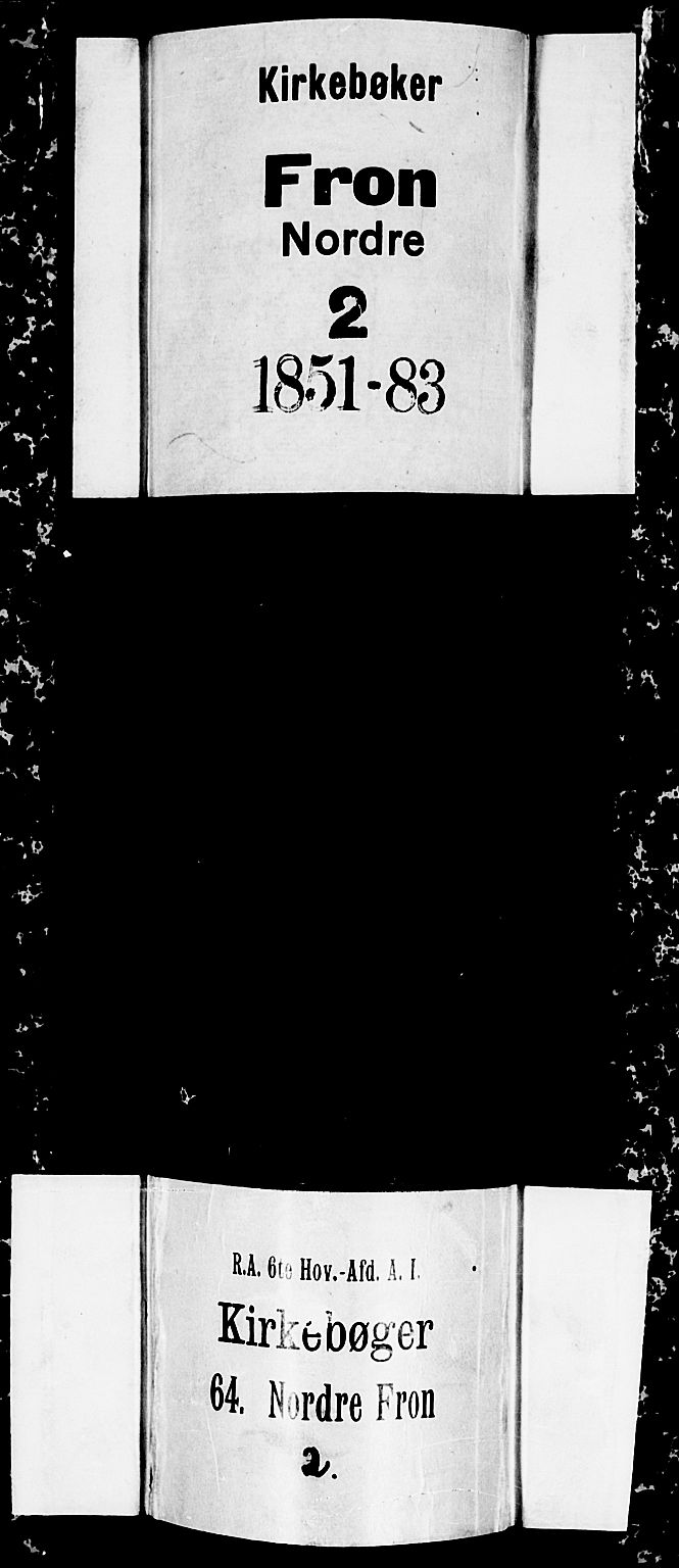 SAH, Nord-Fron prestekontor, Klokkerbok nr. 3, 1851-1886