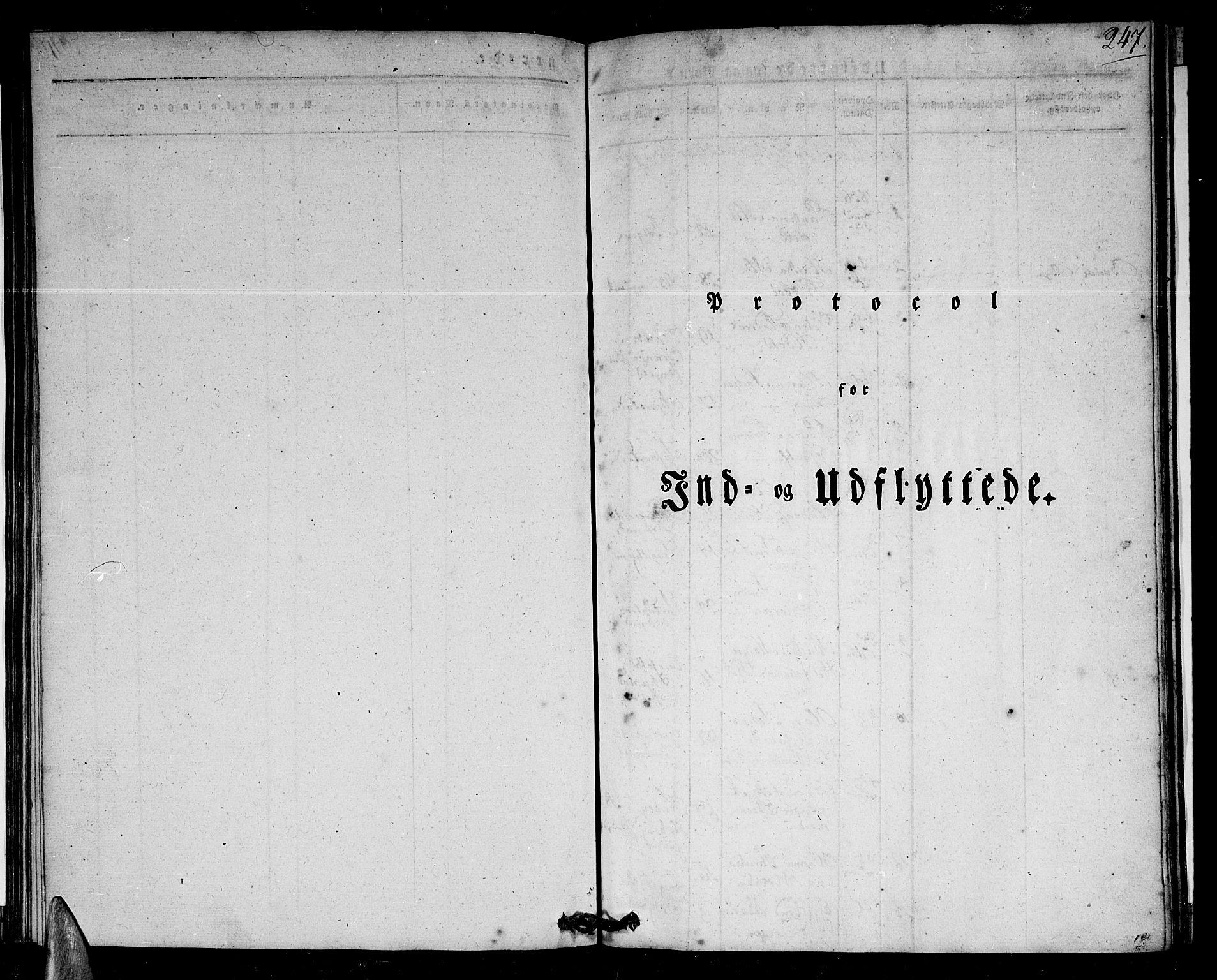 SAT, Ministerialprotokoller, klokkerbøker og fødselsregistre - Nordland, 801/L0006: Ministerialbok nr. 801A06, 1834-1845, s. 247