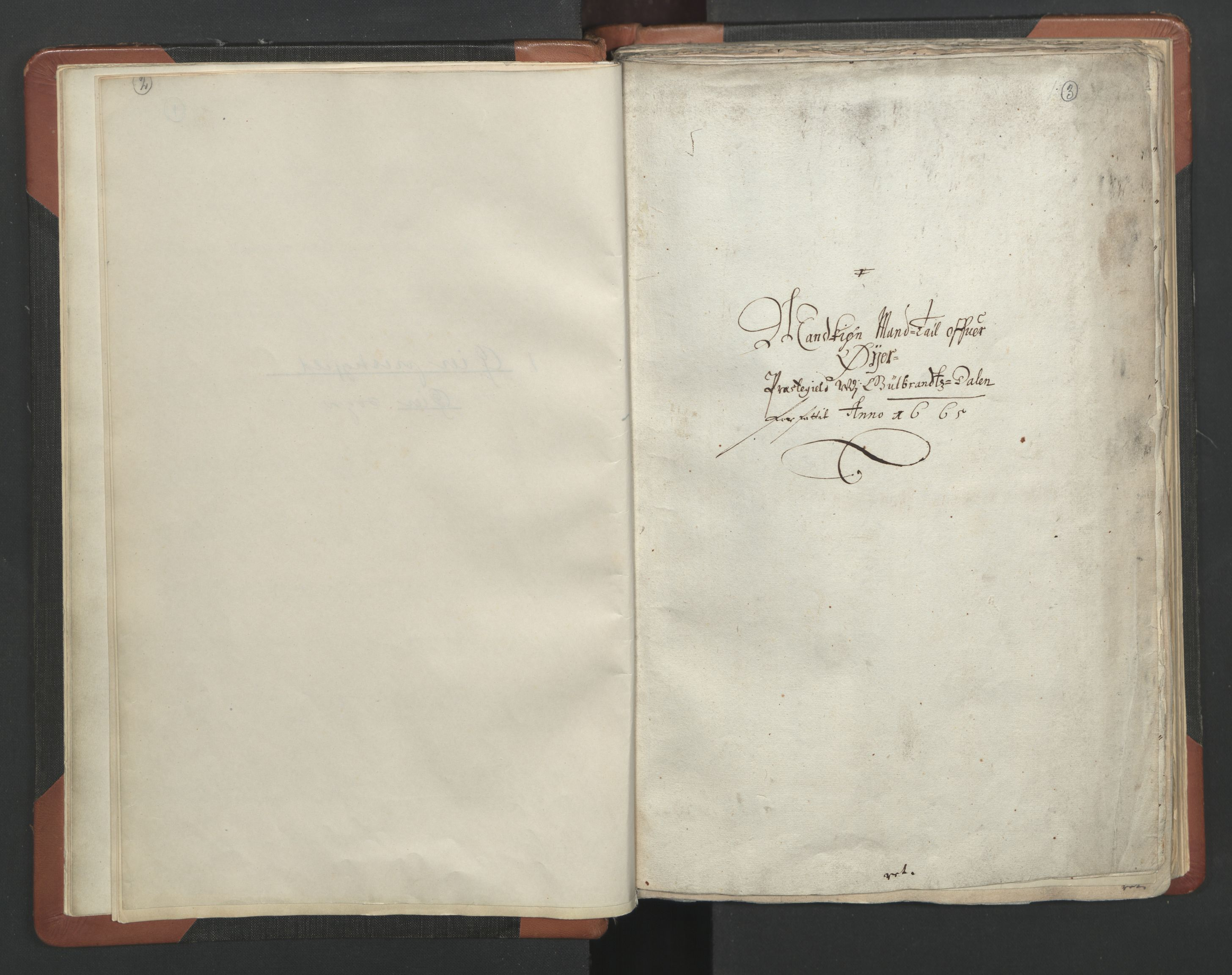 RA, Sogneprestenes manntall 1664-1666, nr. 6: Gudbrandsdal prosti, 1664-1666, s. 2-3