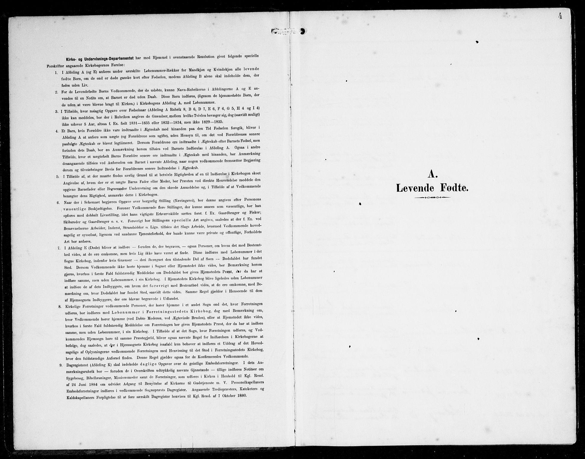 SAB, Alversund Sokneprestembete, H/Ha/Haa/Haac/L0002: Ministerialbok nr. C 2, 1901-1921, s. 4