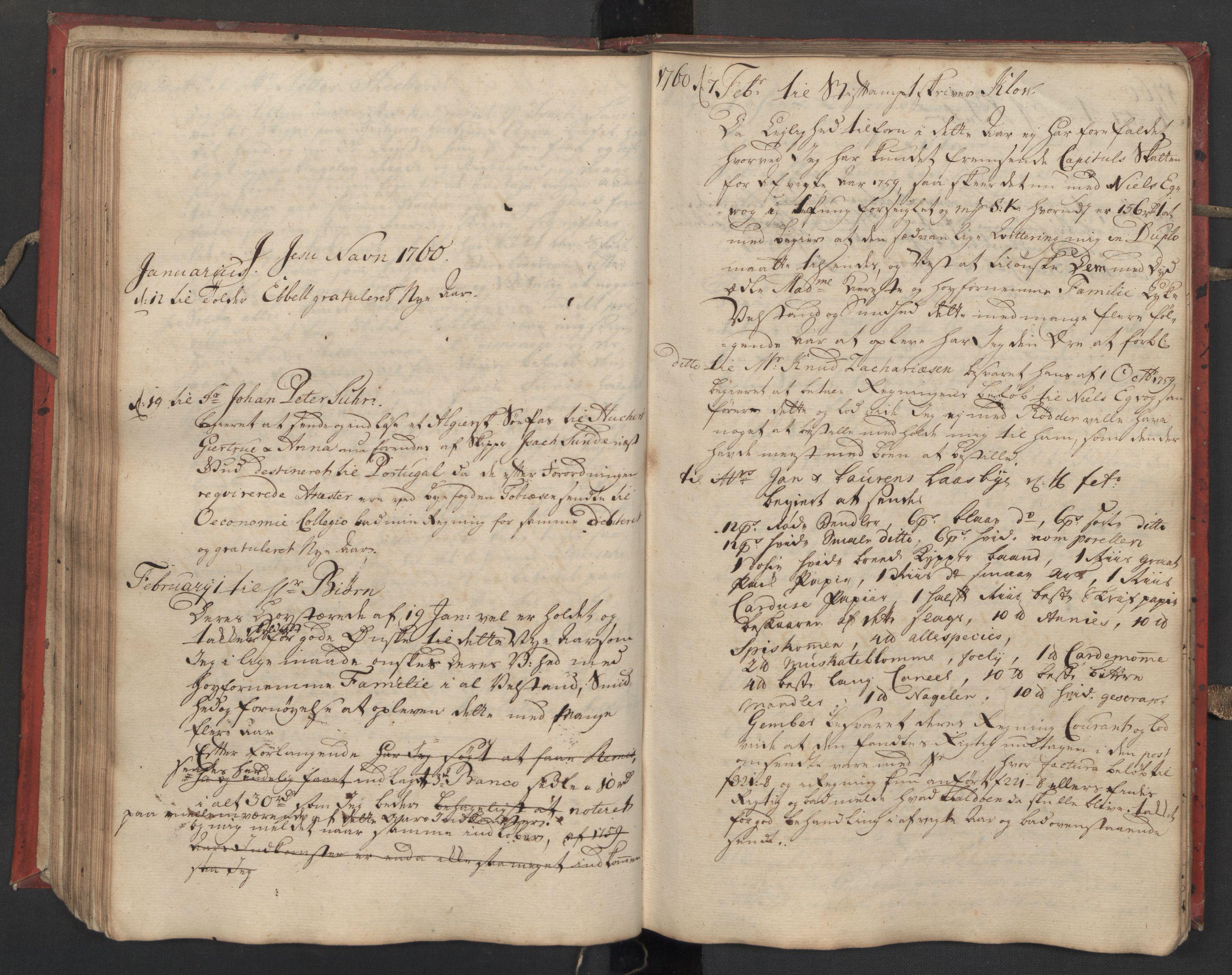 SAST, Pa 0119 - Smith, Lauritz Andersen og Lauritz Lauritzen, O/L0002: Kopibok, 1755-1766, s. 91