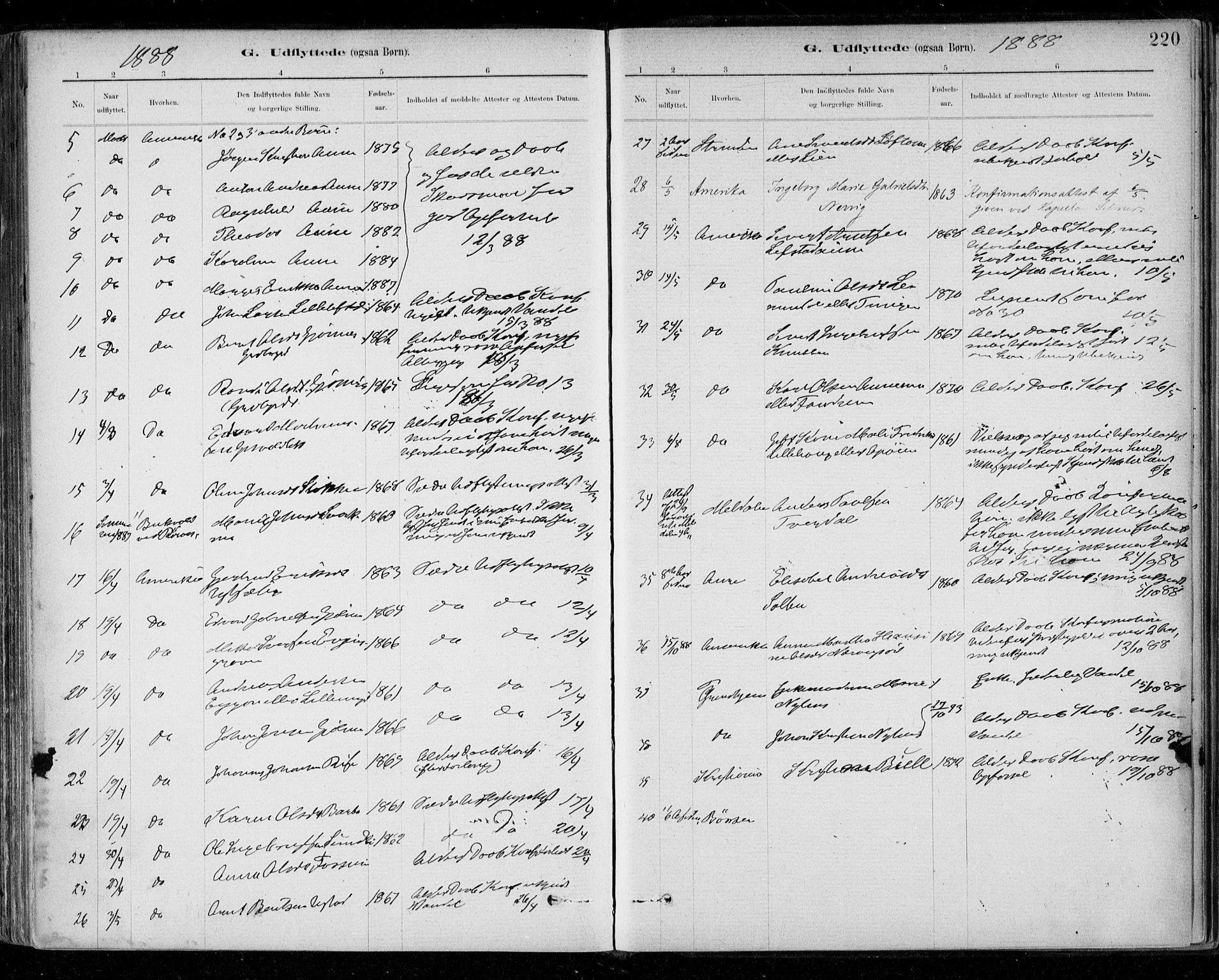 SAT, Ministerialprotokoller, klokkerbøker og fødselsregistre - Sør-Trøndelag, 668/L0810: Ministerialbok nr. 668A10, 1881-1894, s. 220