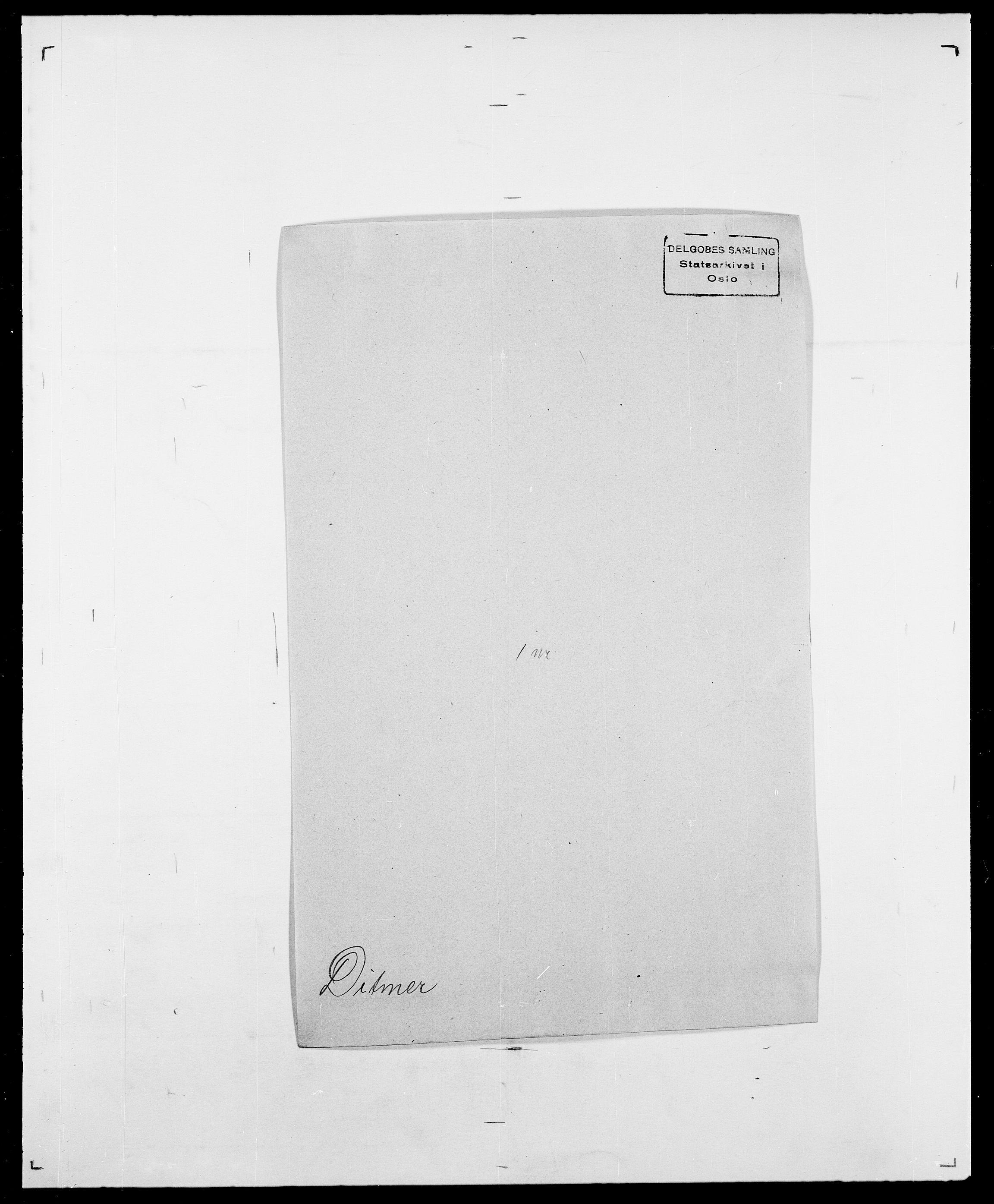 SAO, Delgobe, Charles Antoine - samling, D/Da/L0009: Dahl - v. Düren, s. 605