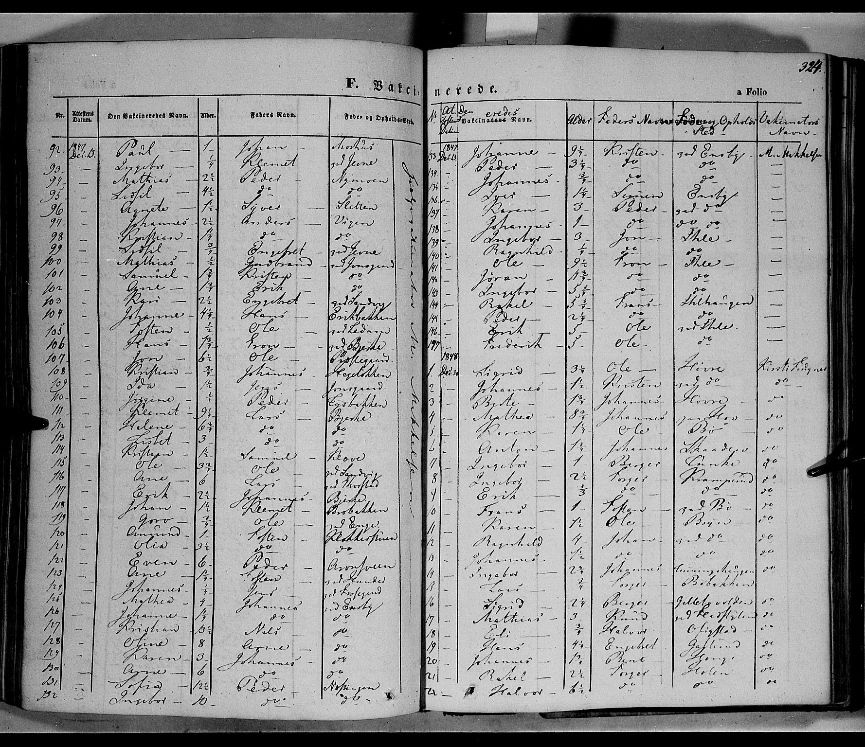 SAH, Øyer prestekontor, Ministerialbok nr. 5, 1842-1857, s. 324
