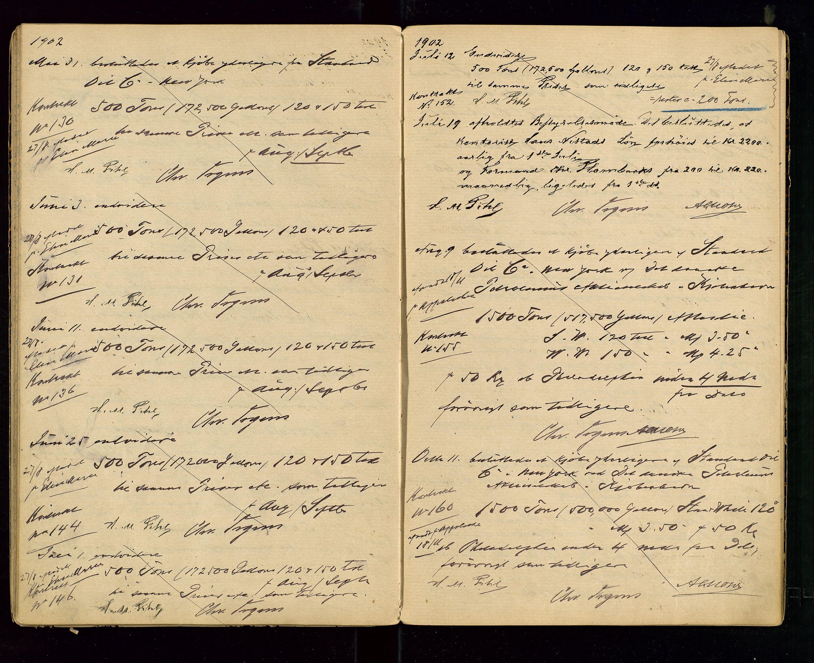 SAST, PA 1533 - A/S Vestlandske Petroleumscompani, A/Aa/L0001: Generalforsamlinger og styreprotokoller, 1890-1907, s. 45