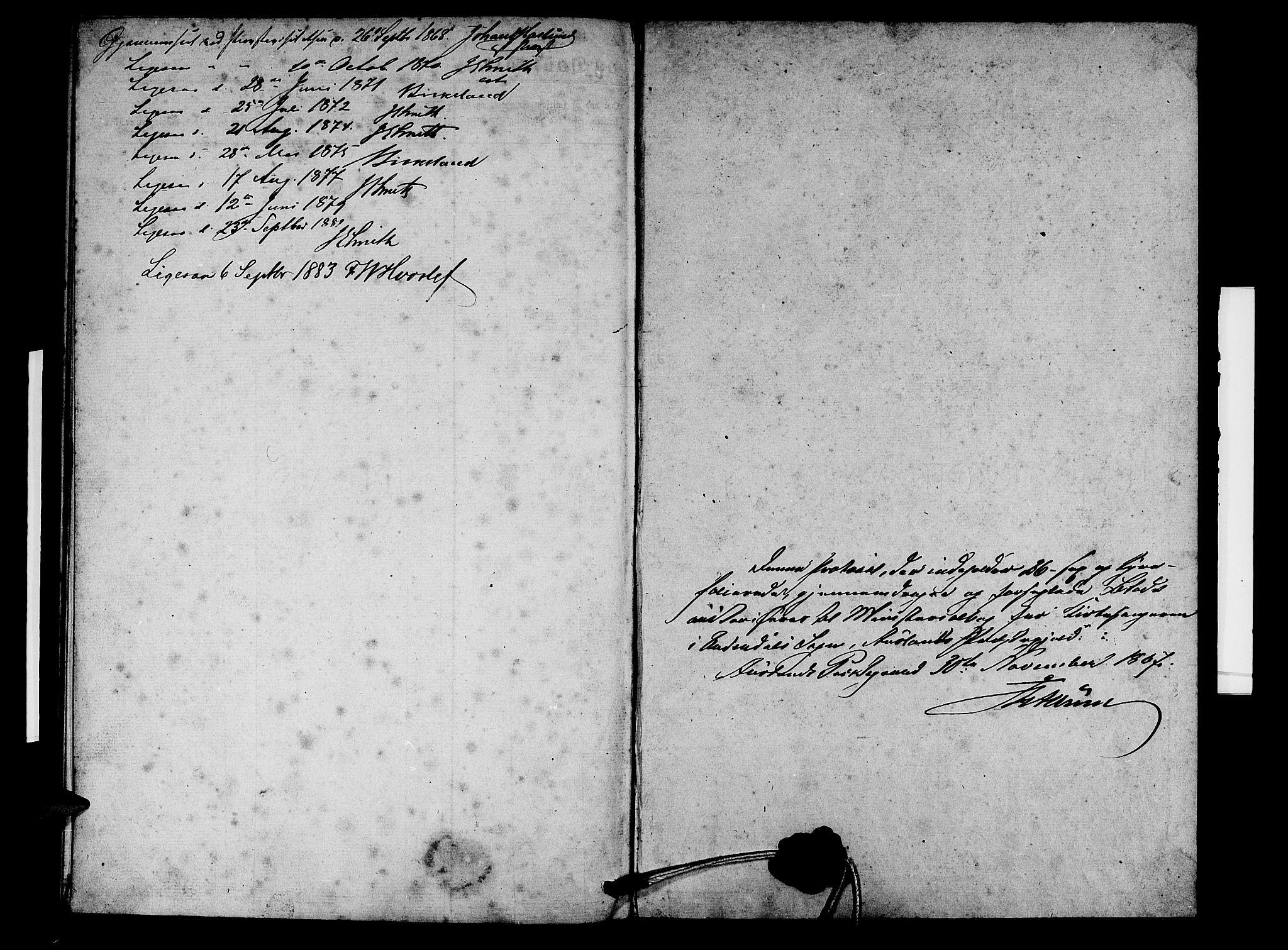 SAB, Aurland Sokneprestembete*, Klokkerbok nr. D 1, 1868-1882, s. 25