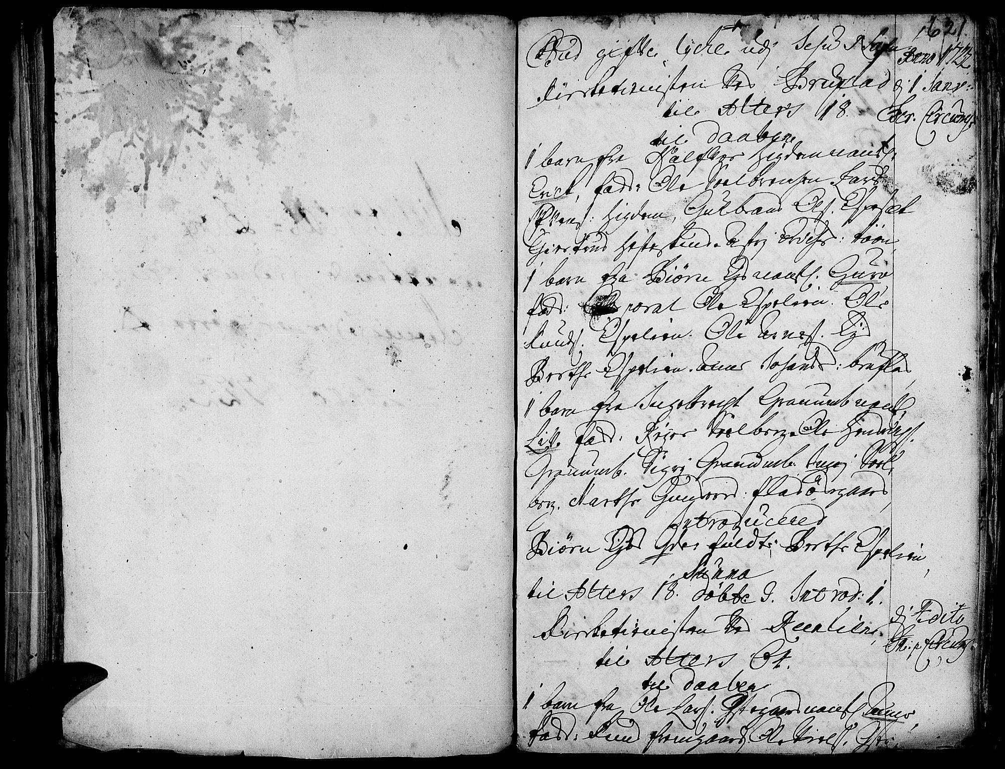 SAH, Aurdal prestekontor, Ministerialbok nr. 1-3, 1692-1730, s. 621