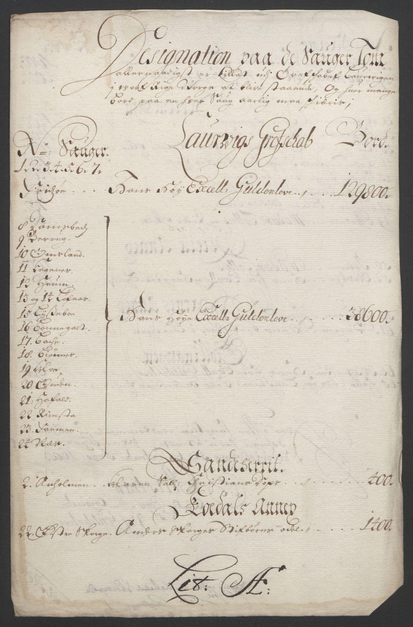 RA, Rentekammeret inntil 1814, Reviderte regnskaper, Fogderegnskap, R33/L1973: Fogderegnskap Larvik grevskap, 1692, s. 143
