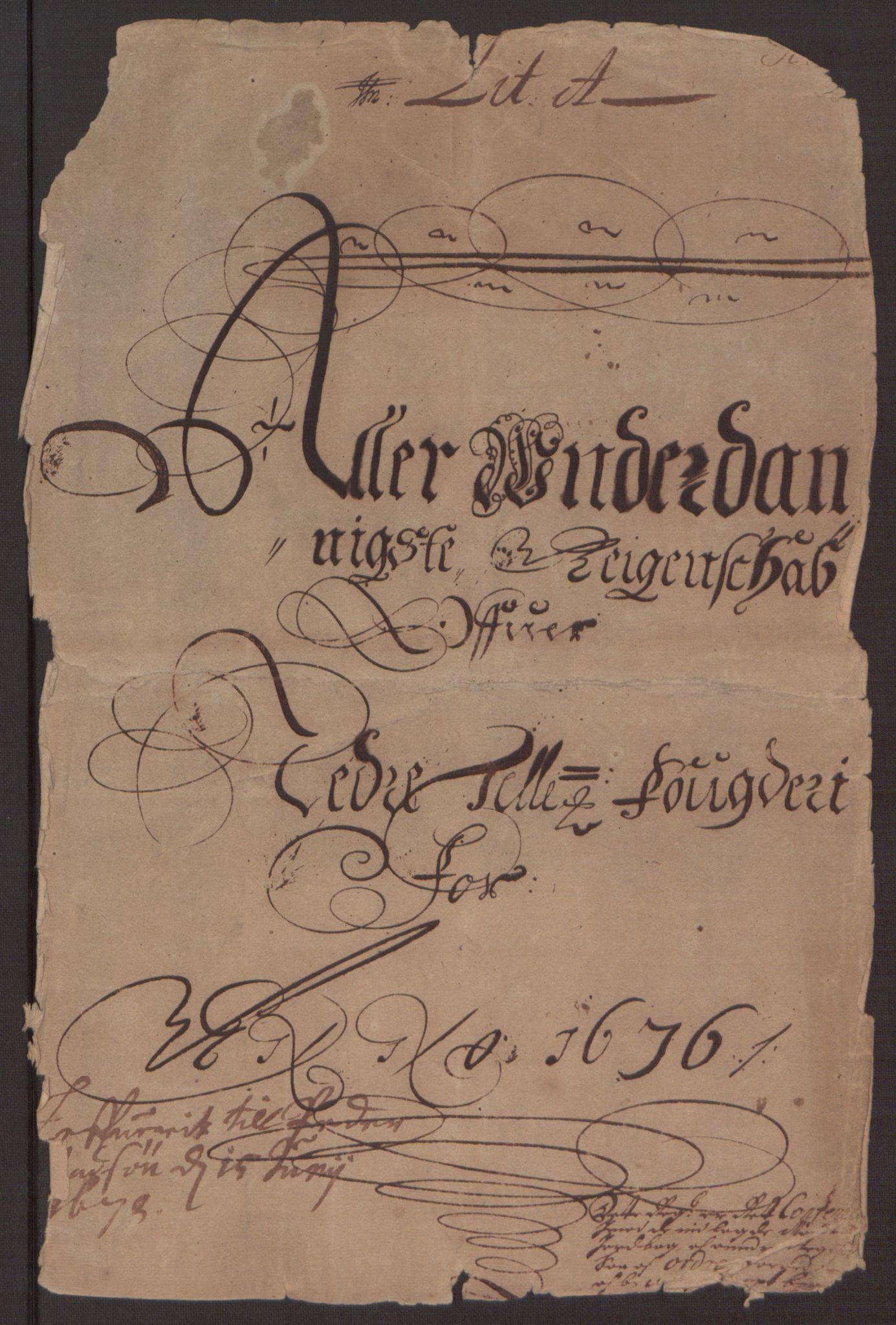 RA, Rentekammeret inntil 1814, Reviderte regnskaper, Fogderegnskap, R35/L2066: Fogderegnskap Øvre og Nedre Telemark, 1676, s. 7