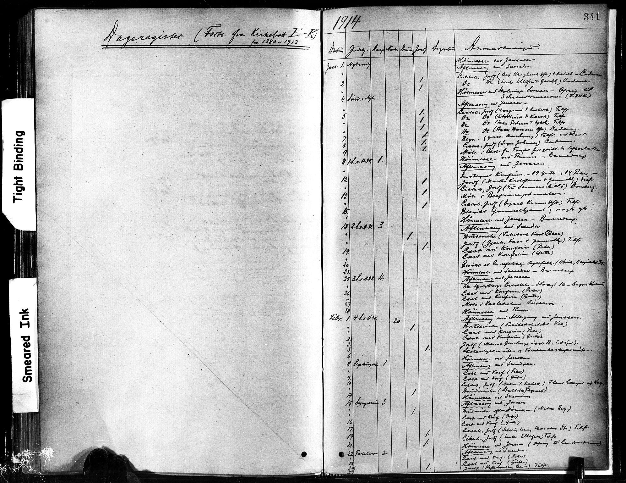 SAT, Ministerialprotokoller, klokkerbøker og fødselsregistre - Sør-Trøndelag, 602/L0119: Ministerialbok nr. 602A17, 1880-1901, s. 341