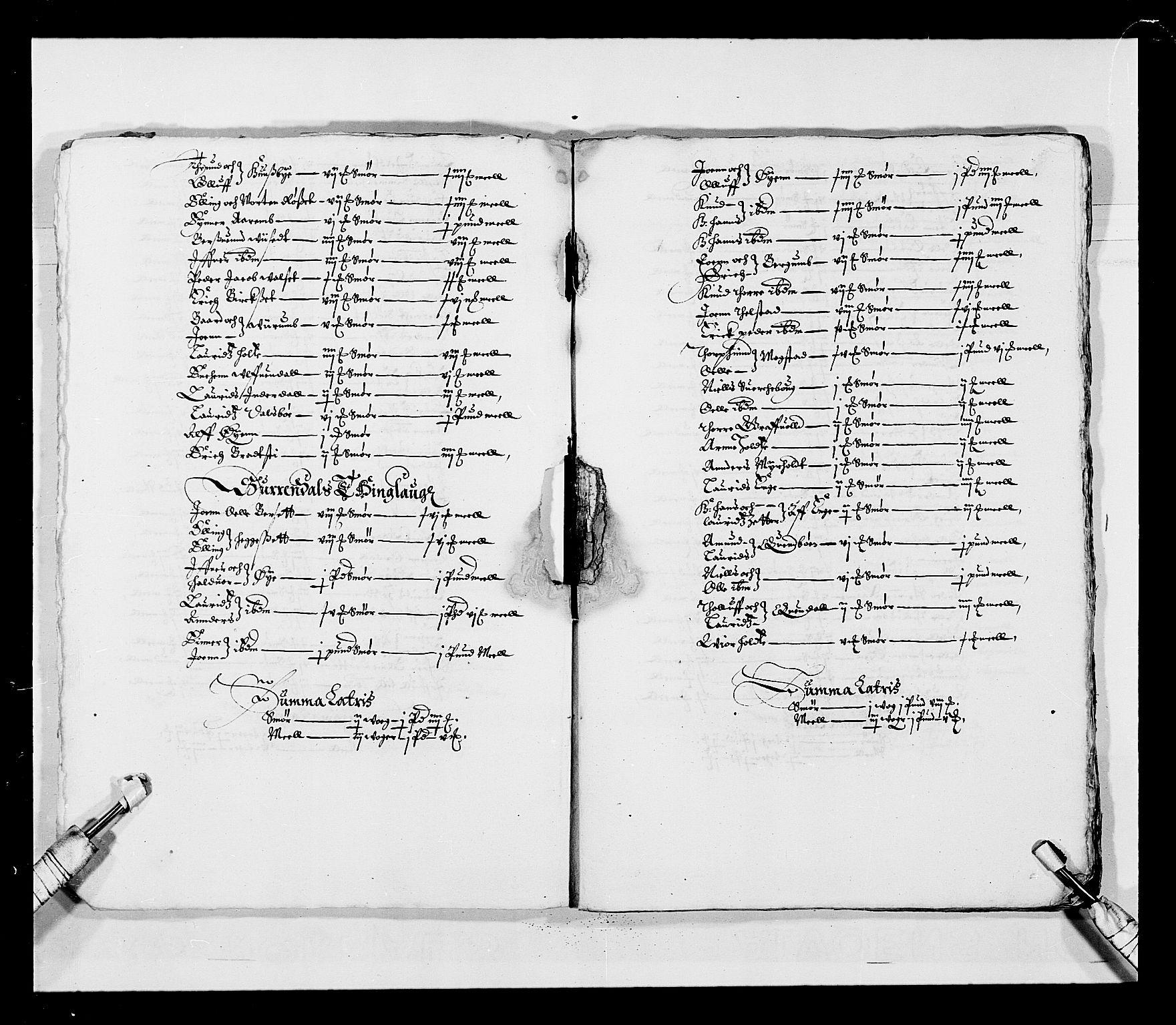 RA, Stattholderembetet 1572-1771, Ek/L0028: Jordebøker 1633-1658:, 1645-1646, s. 6
