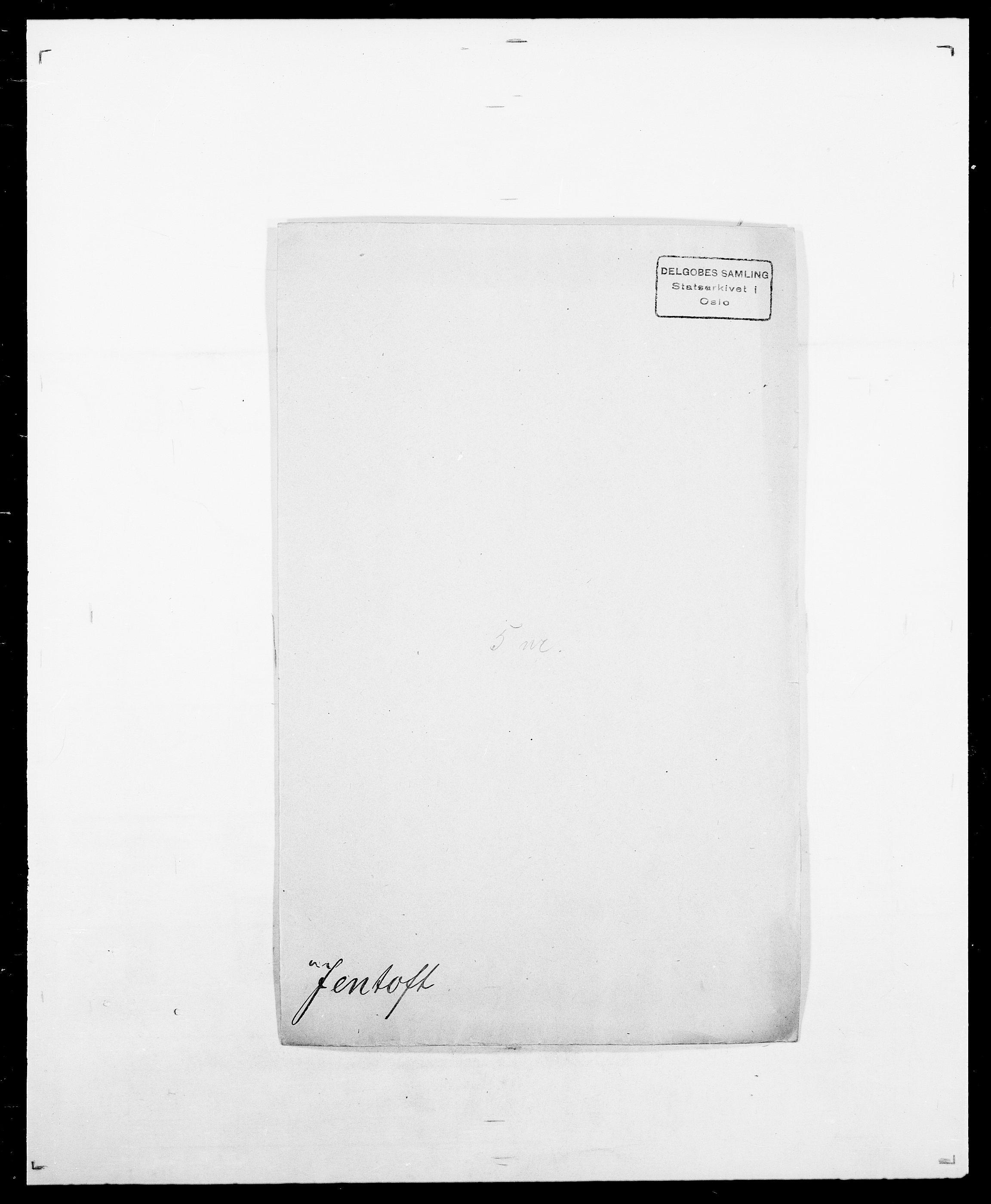 SAO, Delgobe, Charles Antoine - samling, D/Da/L0019: van der Hude - Joys, s. 690
