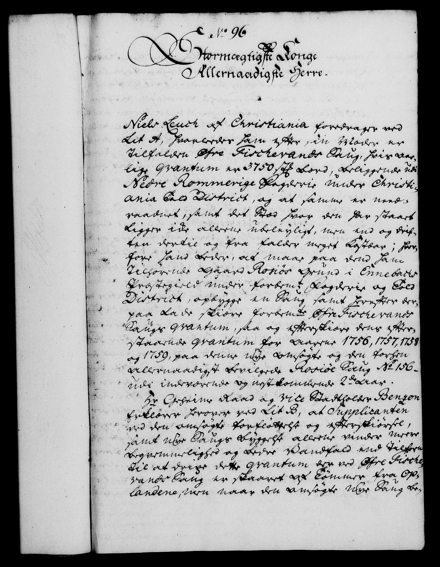 RA, Rentekammeret, Kammerkanselliet, G/Gf/Gfa/L0042: Norsk relasjons- og resolusjonsprotokoll (merket RK 52.42), 1760, s. 345