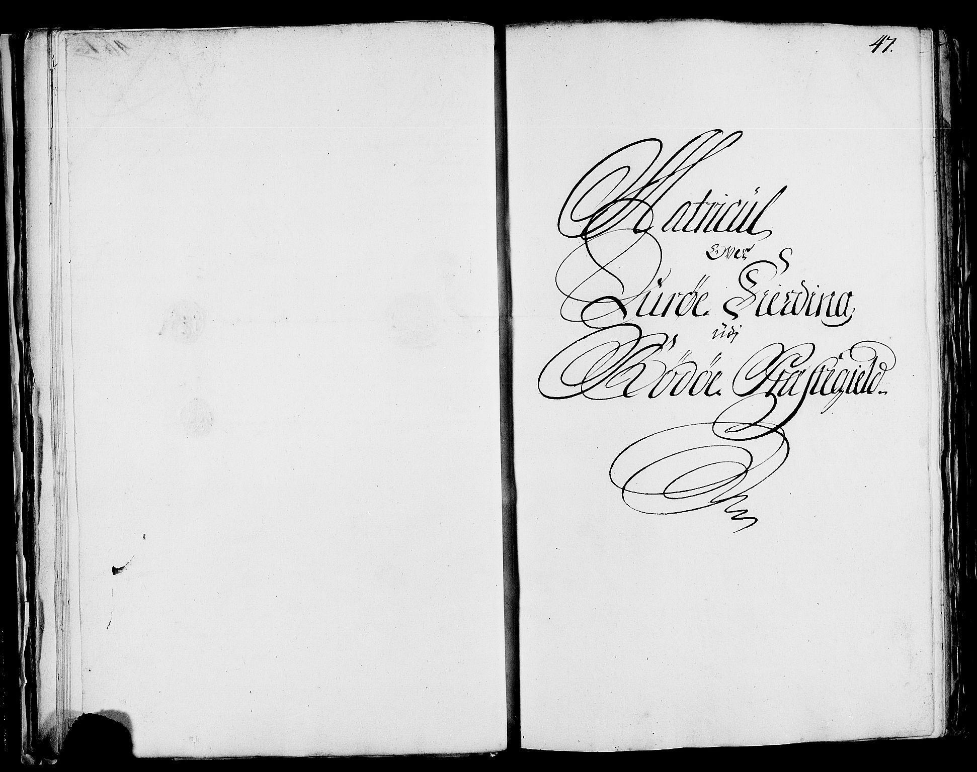 RA, Rentekammeret inntil 1814, Realistisk ordnet avdeling, N/Nb/Nbf/L0171: Helgeland matrikkelprotokoll, 1723, s. 46b-47a