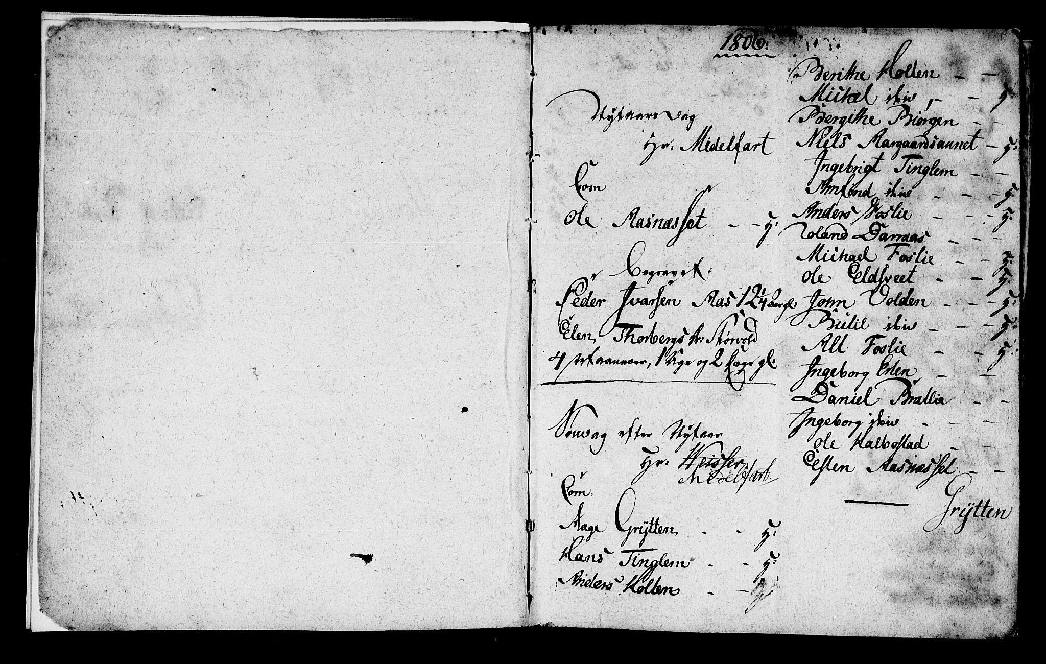 SAT, Ministerialprotokoller, klokkerbøker og fødselsregistre - Nord-Trøndelag, 742/L0410: Klokkerbok nr. 742C01, 1806-1821