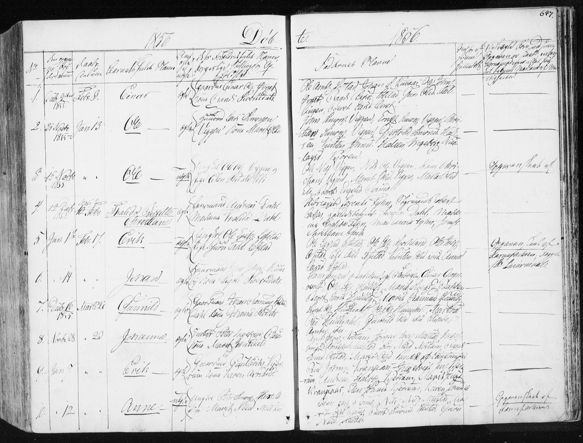SAT, Ministerialprotokoller, klokkerbøker og fødselsregistre - Sør-Trøndelag, 665/L0771: Ministerialbok nr. 665A06, 1830-1856, s. 647
