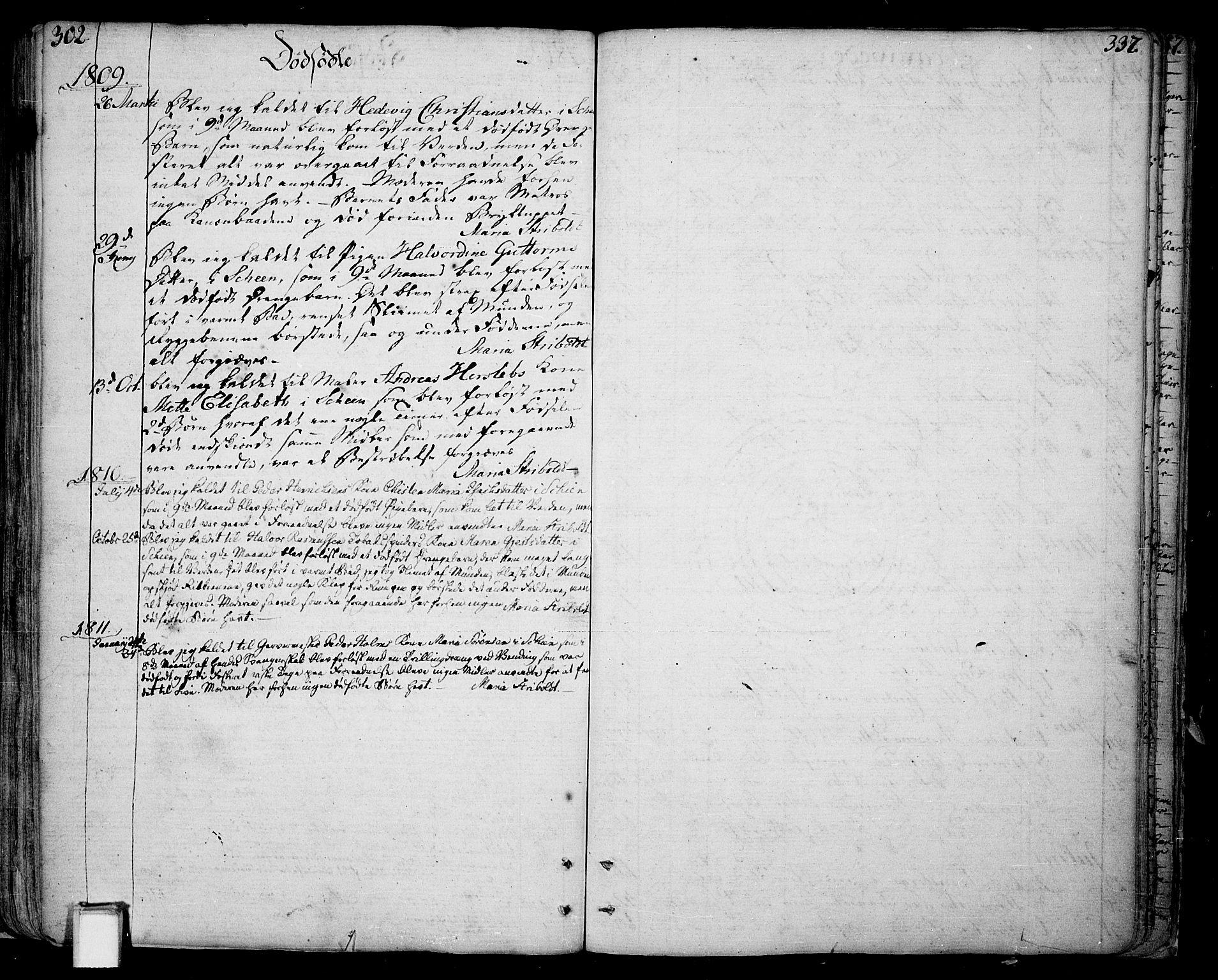 SAKO, Skien kirkebøker, F/Fa/L0004: Ministerialbok nr. 4, 1792-1814, s. 302-303