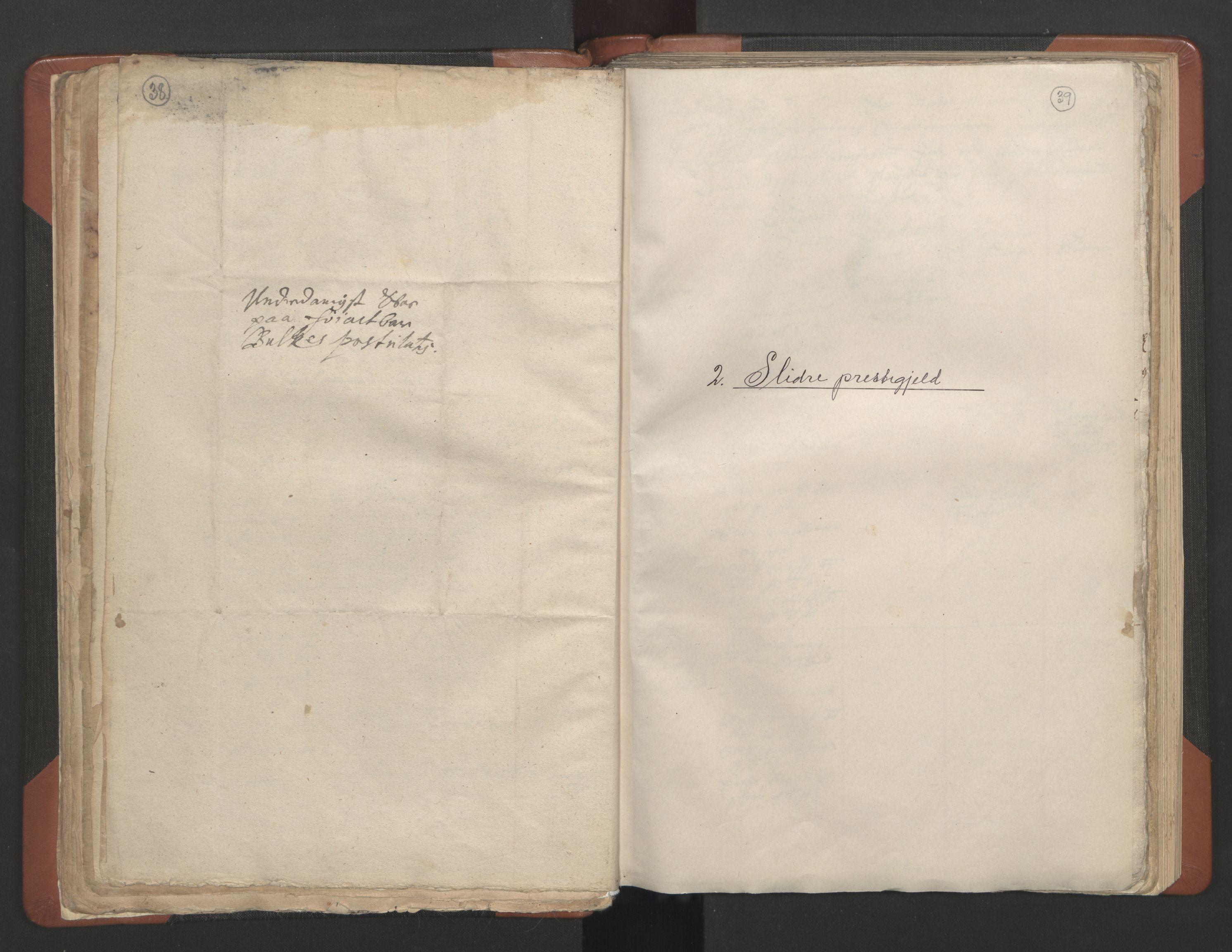 RA, Sogneprestenes manntall 1664-1666, nr. 8: Valdres prosti, 1664-1666, s. 38-39