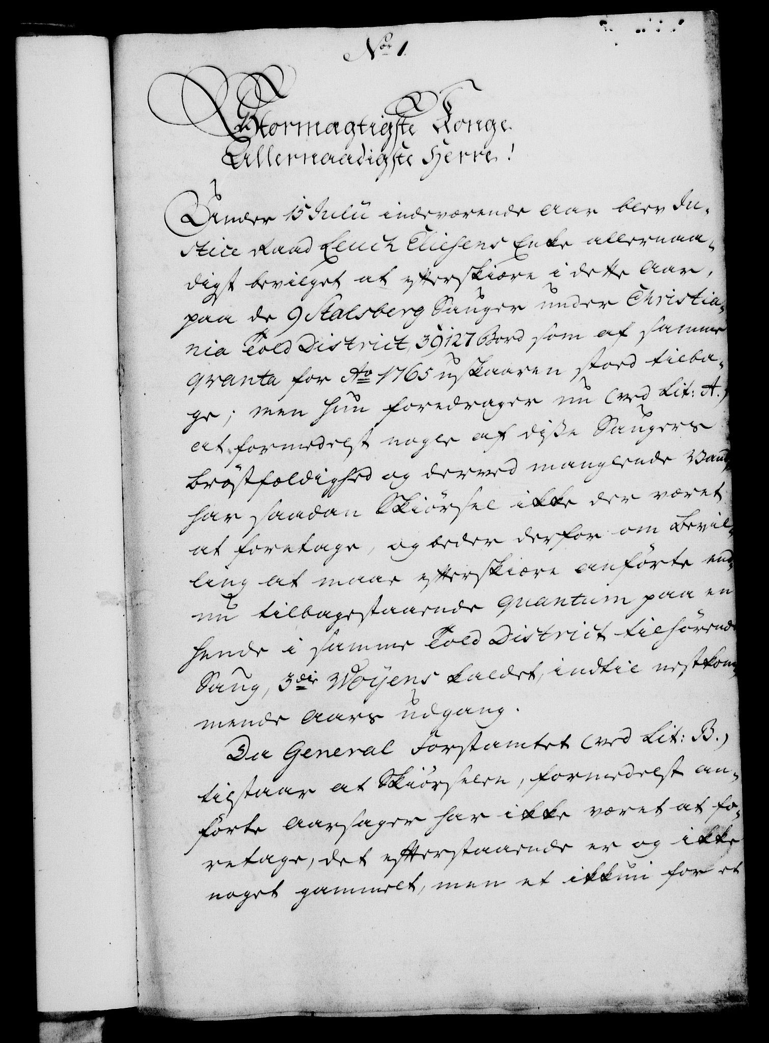 RA, Rentekammeret, Kammerkanselliet, G/Gf/Gfa/L0049: Norsk relasjons- og resolusjonsprotokoll (merket RK 52.49), 1767, s. 26
