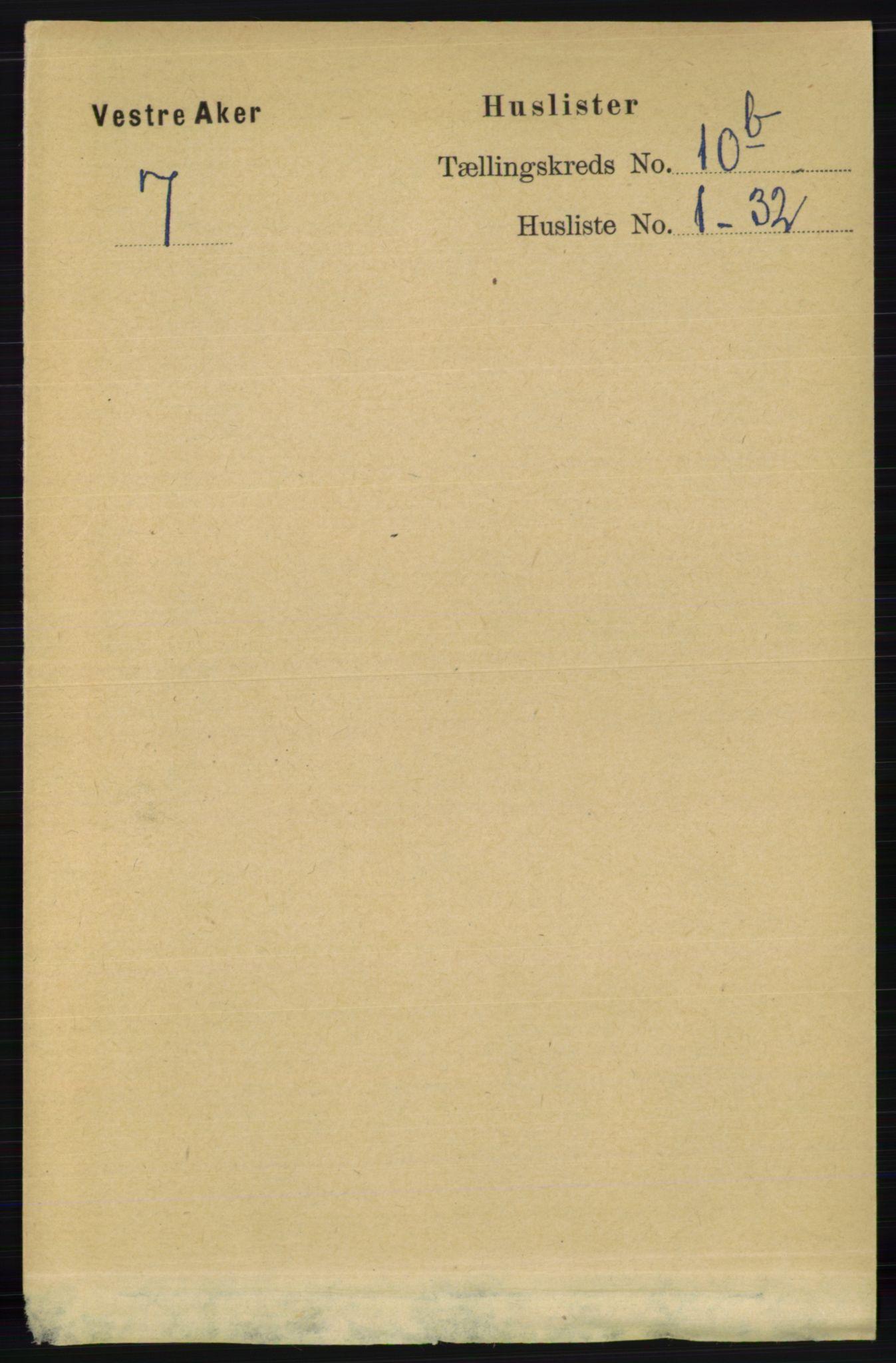 RA, Folketelling 1891 for 0218 Aker herred, 1891, s. 9552