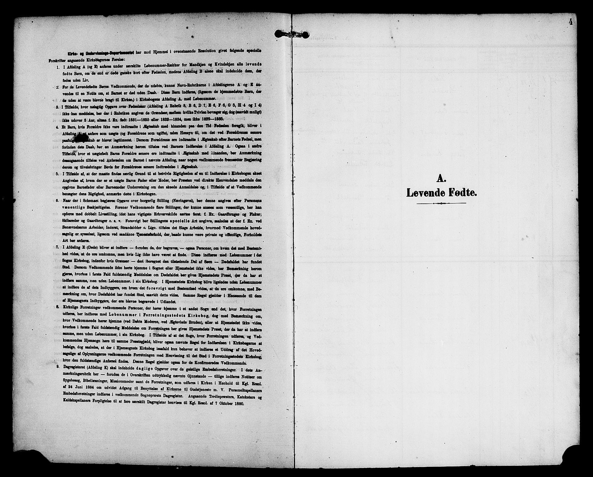 SAB, Eid Sokneprestembete, H/Haa: Ministerialbok nr. C 1, 1879-1899, s. 4
