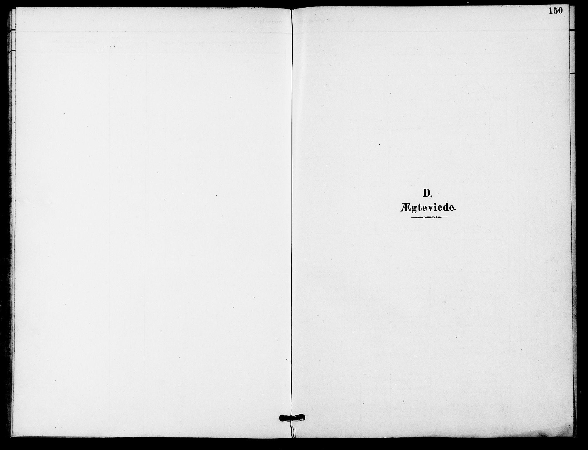SAO, Gamle Aker prestekontor Kirkebøker, F/L0009: Ministerialbok nr. 9, 1890-1898, s. 150