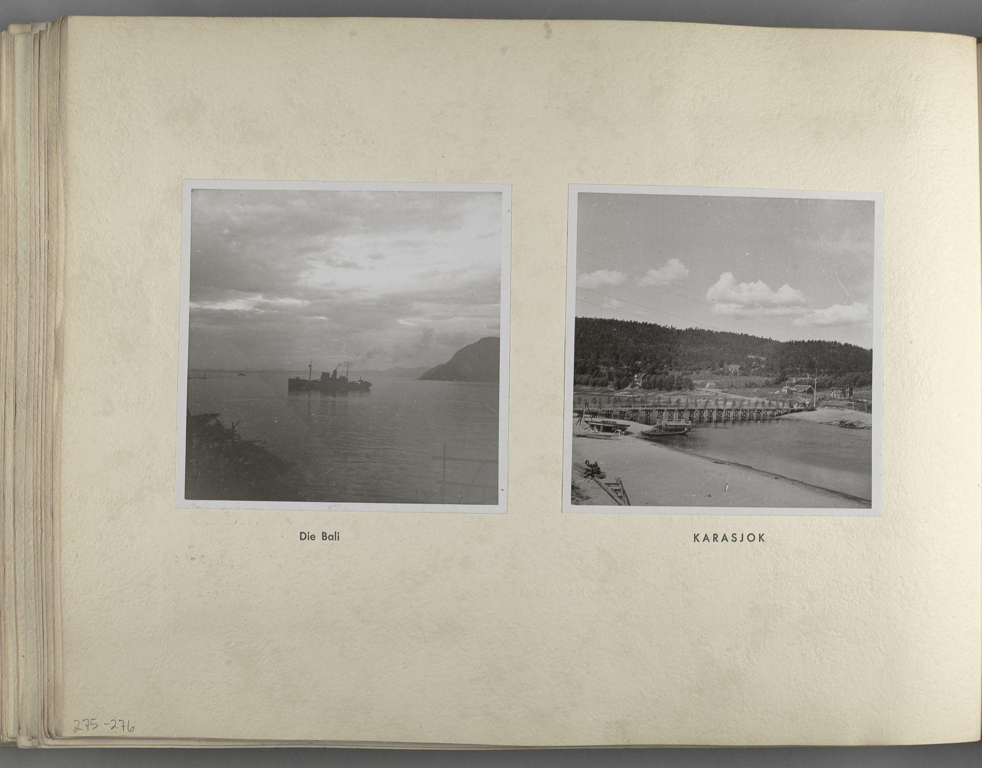 RA, Tyske arkiver, Reichskommissariat, Bildarchiv, U/L0071: Fotoalbum: Mit dem Reichskommissar nach Nordnorwegen und Finnland 10. bis 27. Juli 1942, 1942, s. 108