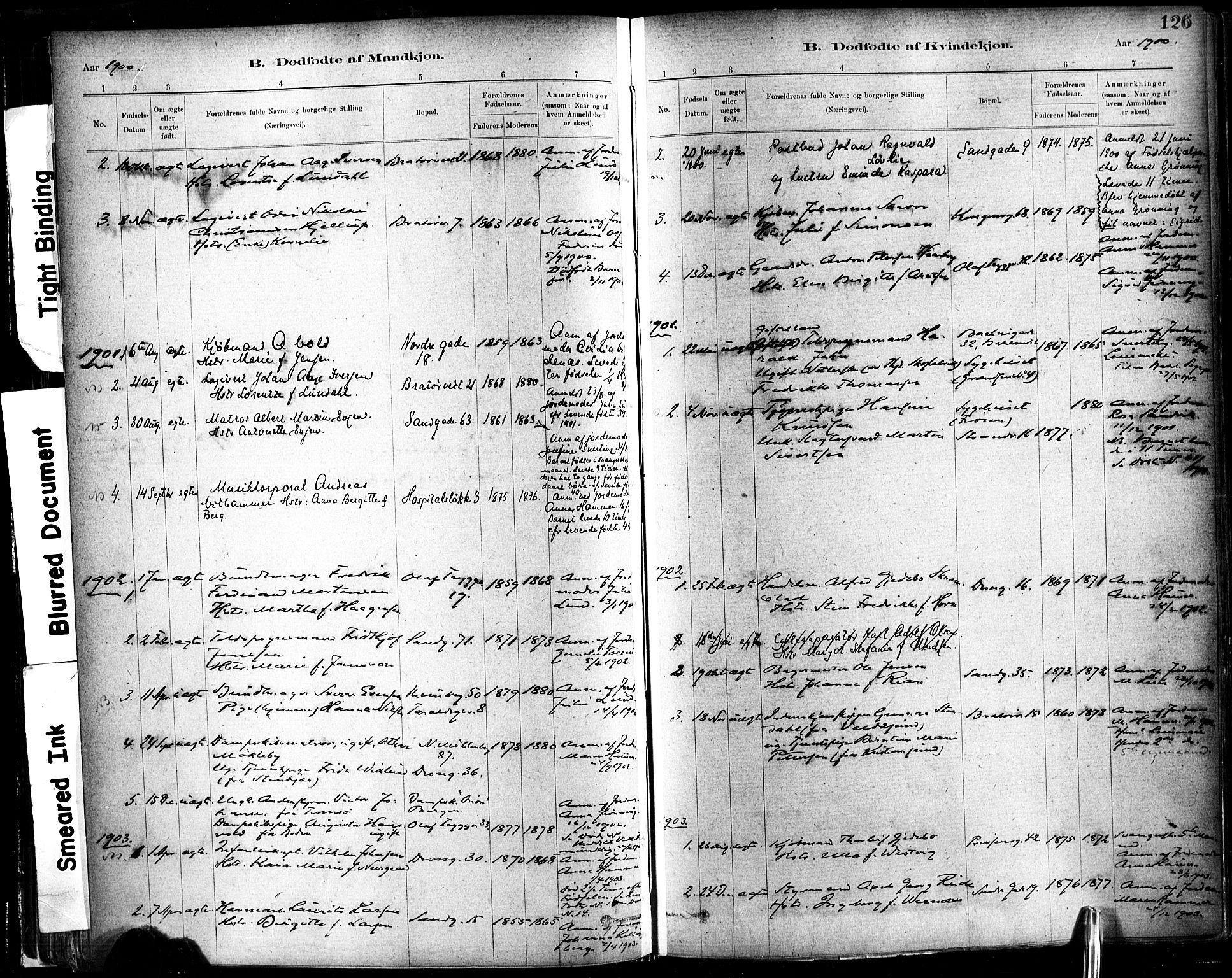 SAT, Ministerialprotokoller, klokkerbøker og fødselsregistre - Sør-Trøndelag, 602/L0119: Ministerialbok nr. 602A17, 1880-1901, s. 126