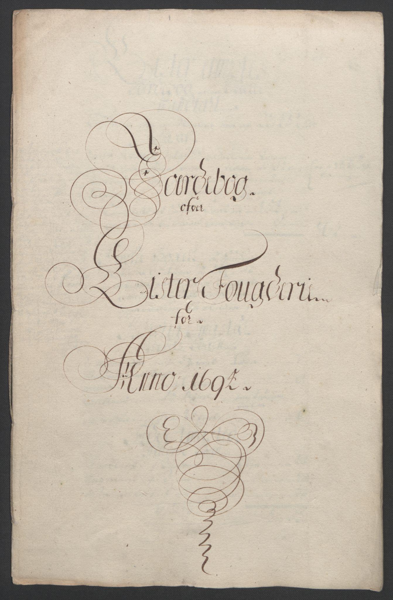RA, Rentekammeret inntil 1814, Reviderte regnskaper, Fogderegnskap, R43/L2545: Fogderegnskap Lista og Mandal, 1694-1695, s. 37