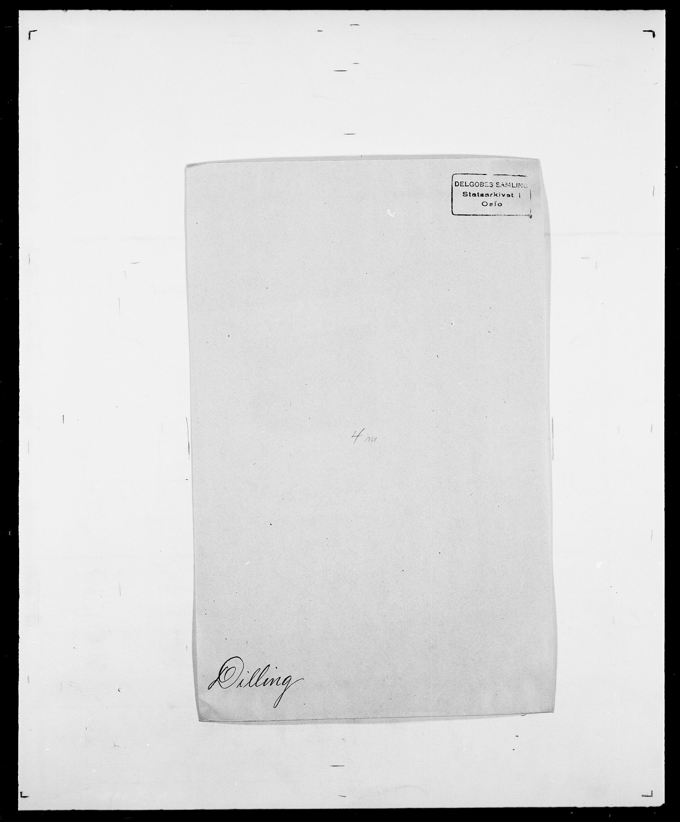 SAO, Delgobe, Charles Antoine - samling, D/Da/L0009: Dahl - v. Düren, s. 573