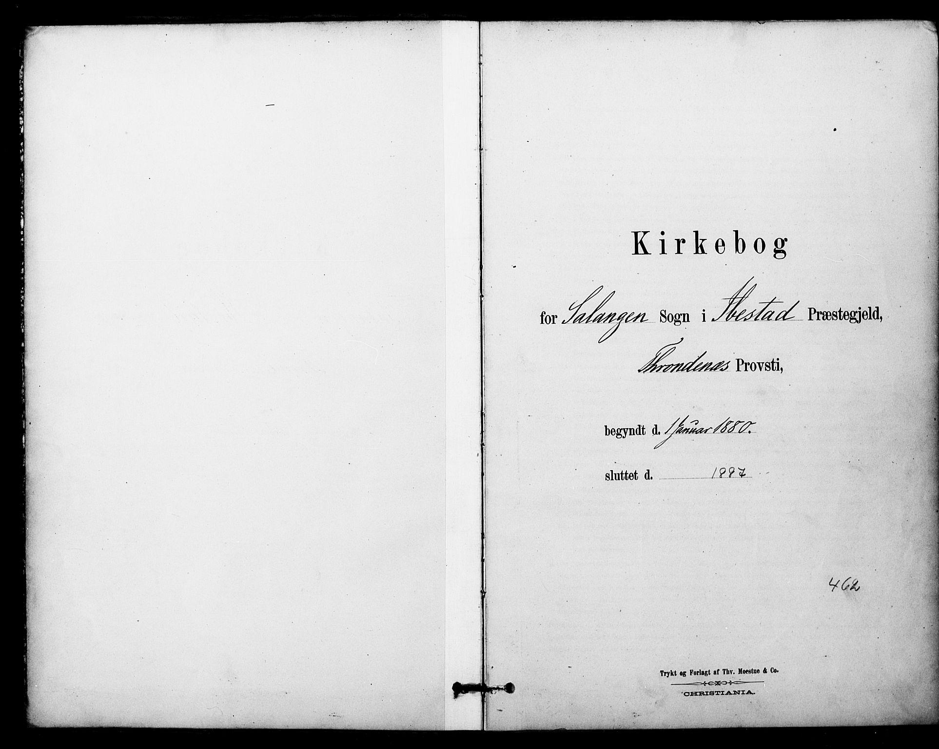 SATØ, Ibestad sokneprestembete, Ministerialbok nr. 14, 1880-1887