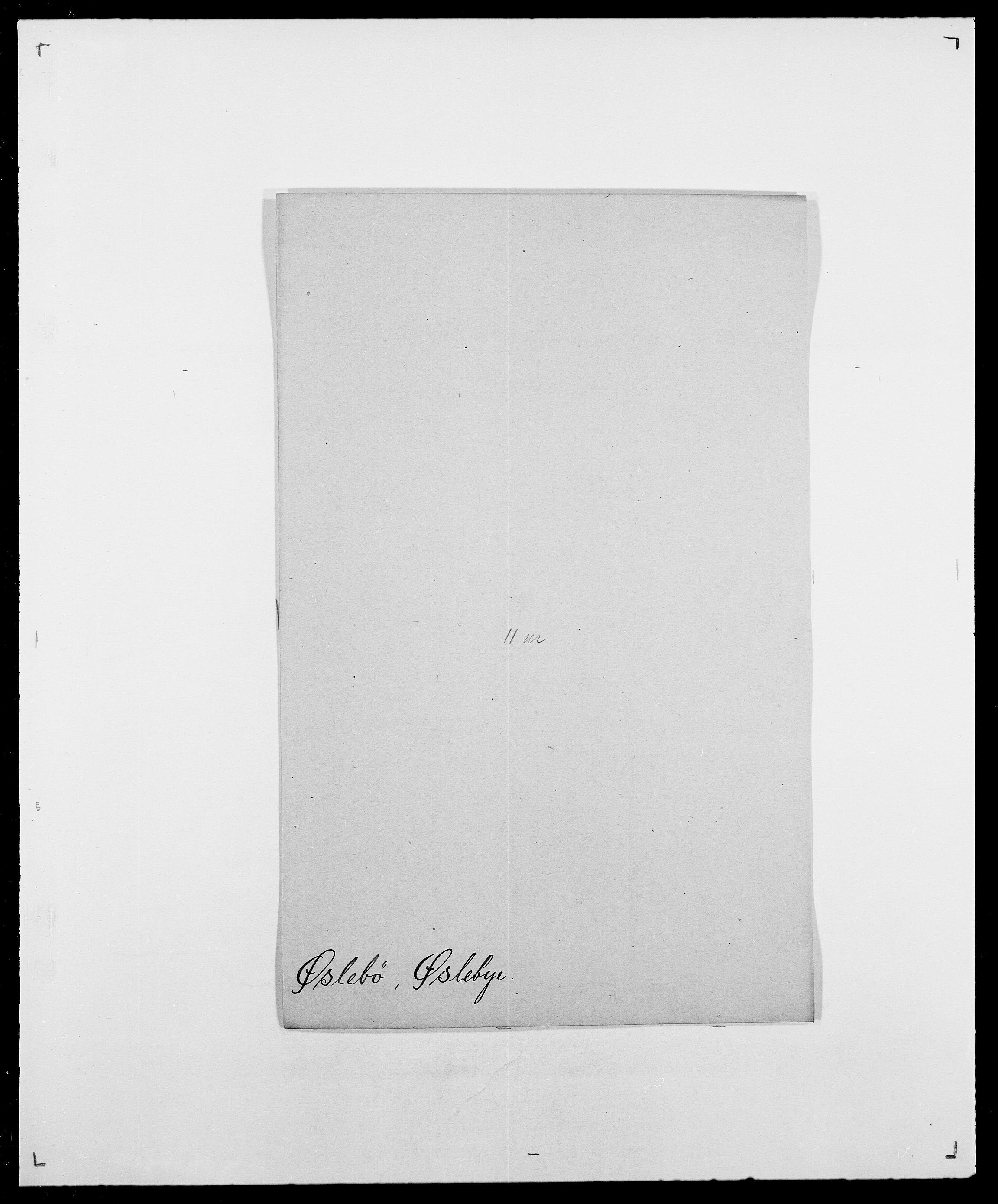 SAO, Delgobe, Charles Antoine - samling, D/Da/L0043: Wulfsberg - v. Zanten, s. 320