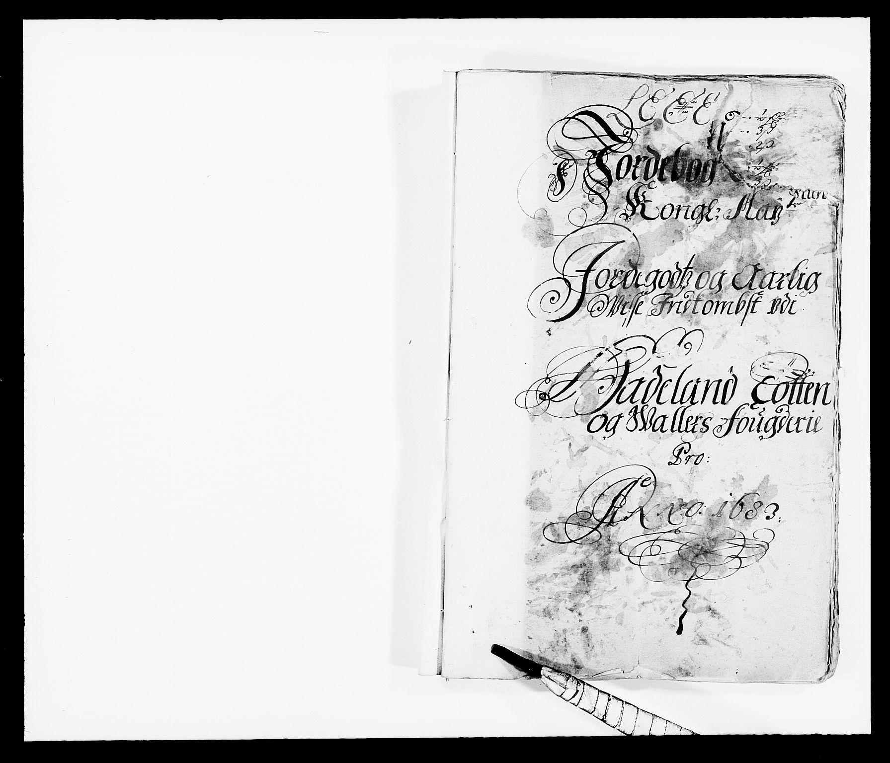 RA, Rentekammeret inntil 1814, Reviderte regnskaper, Fogderegnskap, R18/L1282: Fogderegnskap Hadeland, Toten og Valdres, 1683, s. 12
