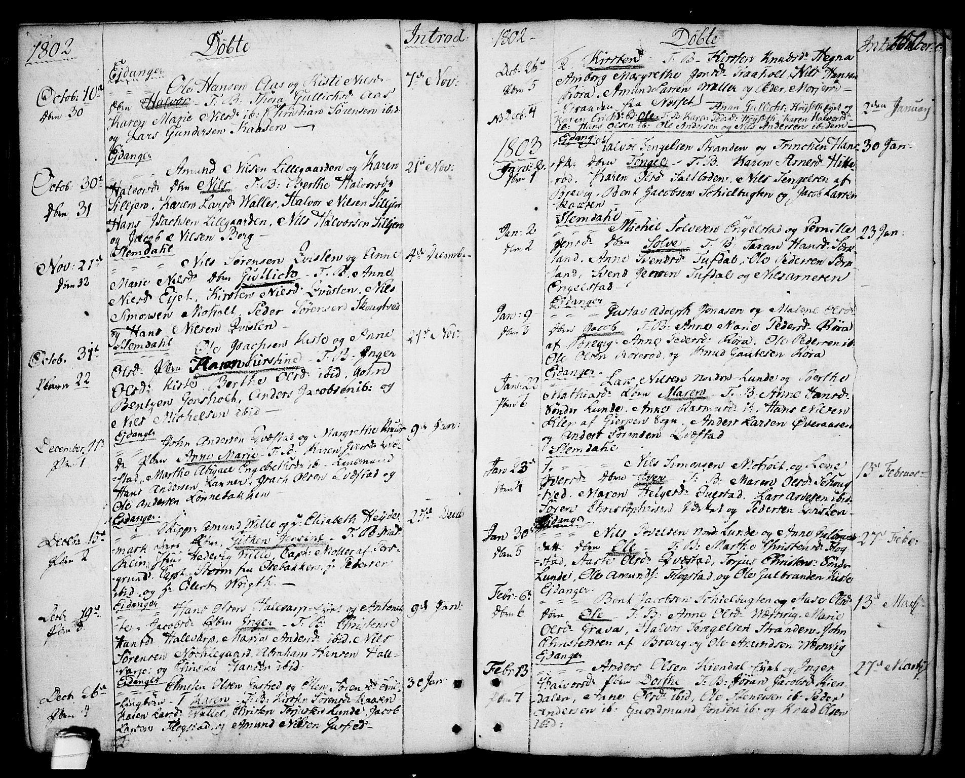 SAKO, Eidanger kirkebøker, F/Fa/L0006: Ministerialbok nr. 6, 1764-1814, s. 100