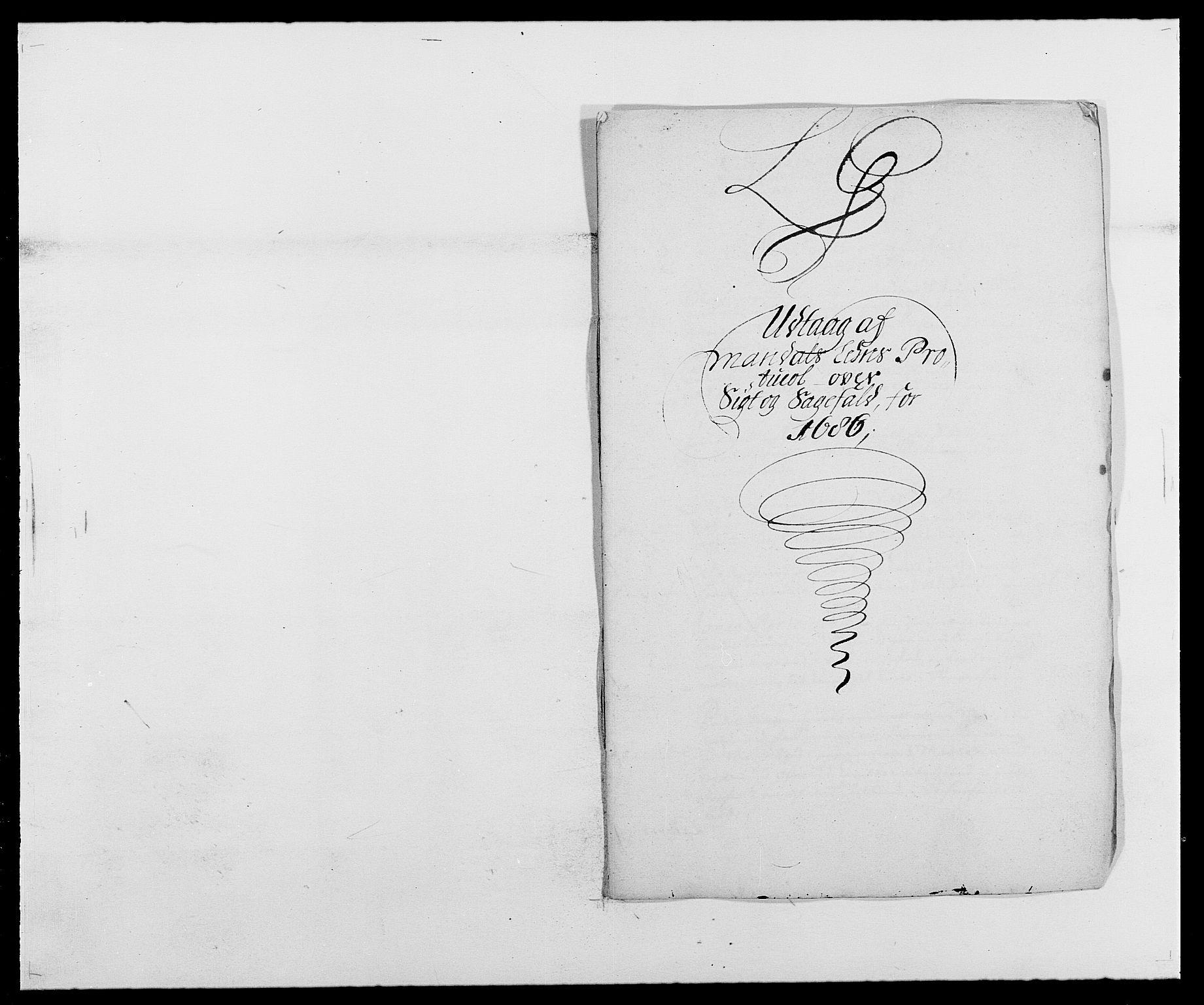 RA, Rentekammeret inntil 1814, Reviderte regnskaper, Fogderegnskap, R42/L2542: Mandal fogderi, 1685-1687, s. 111