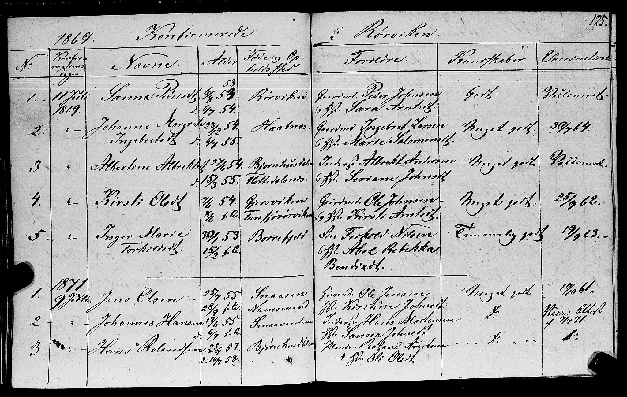 SAT, Ministerialprotokoller, klokkerbøker og fødselsregistre - Nord-Trøndelag, 762/L0538: Ministerialbok nr. 762A02 /1, 1833-1879, s. 125