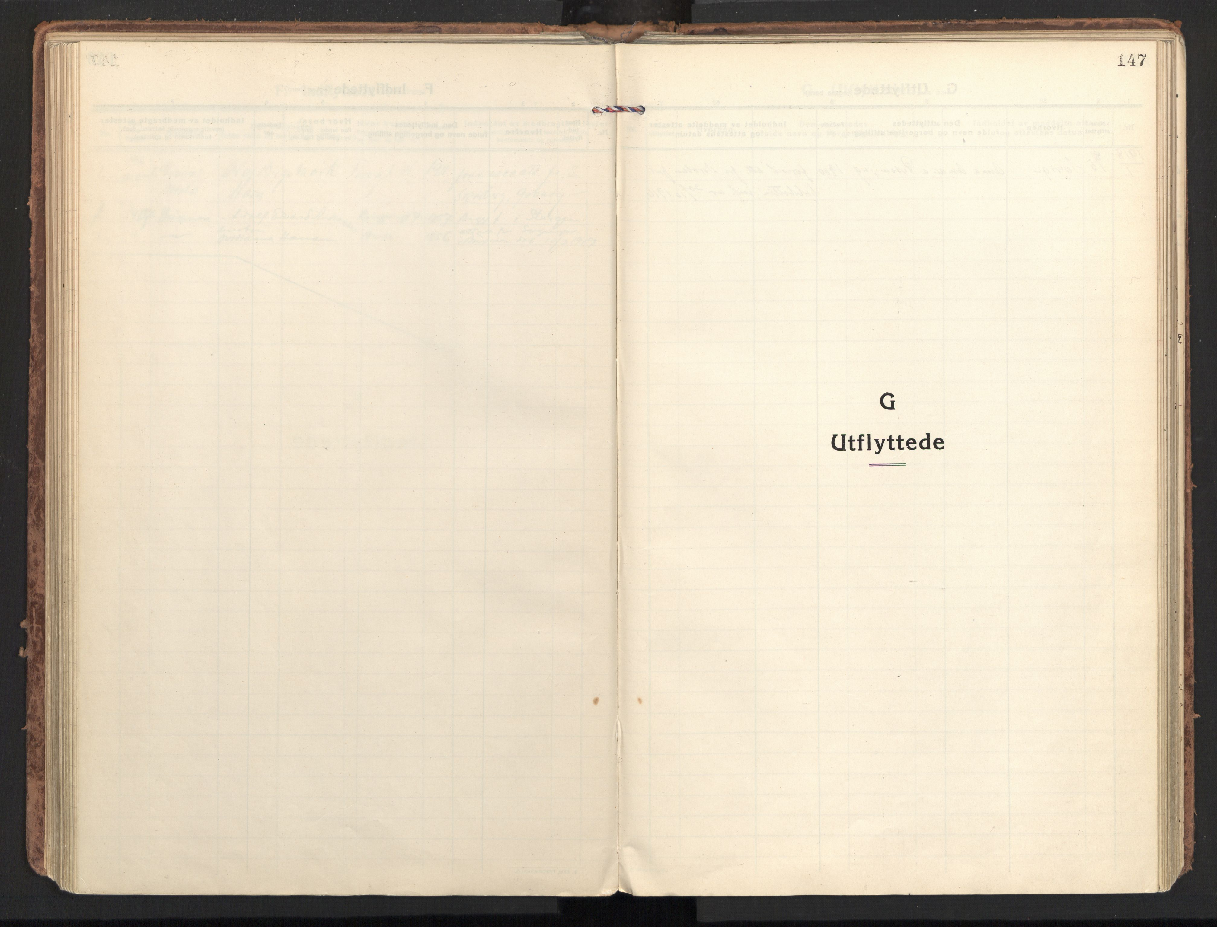 SAT, Ministerialprotokoller, klokkerbøker og fødselsregistre - Nordland, 801/L0018: Ministerialbok nr. 801A18, 1916-1930, s. 147
