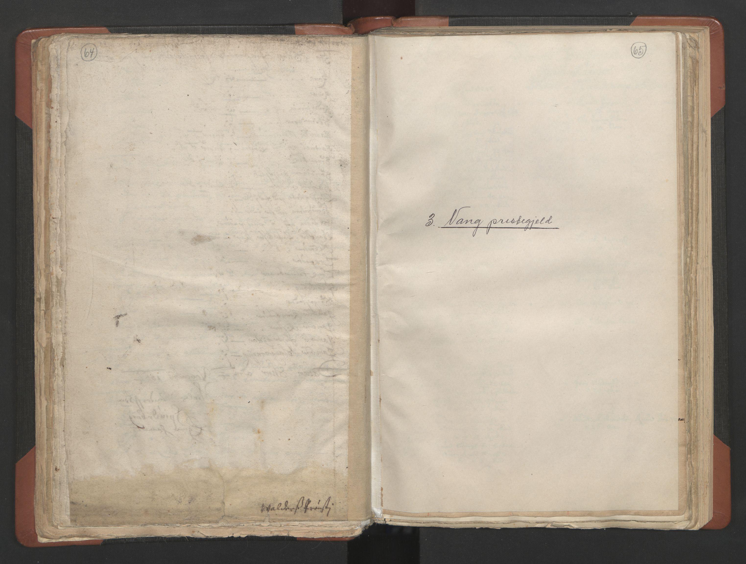 RA, Sogneprestenes manntall 1664-1666, nr. 8: Valdres prosti, 1664-1666, s. 64-65
