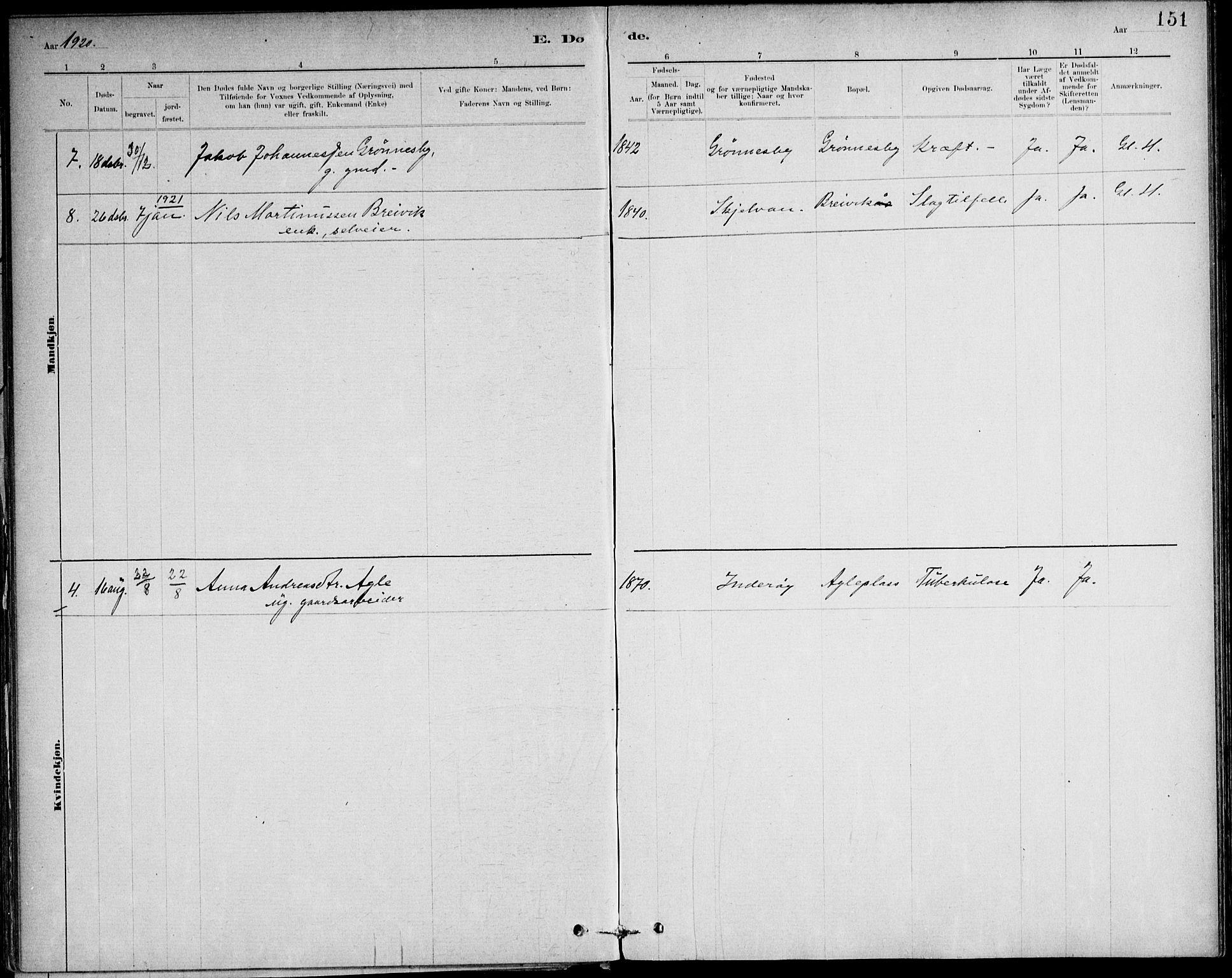 SAT, Ministerialprotokoller, klokkerbøker og fødselsregistre - Nord-Trøndelag, 732/L0316: Ministerialbok nr. 732A01, 1879-1921, s. 151