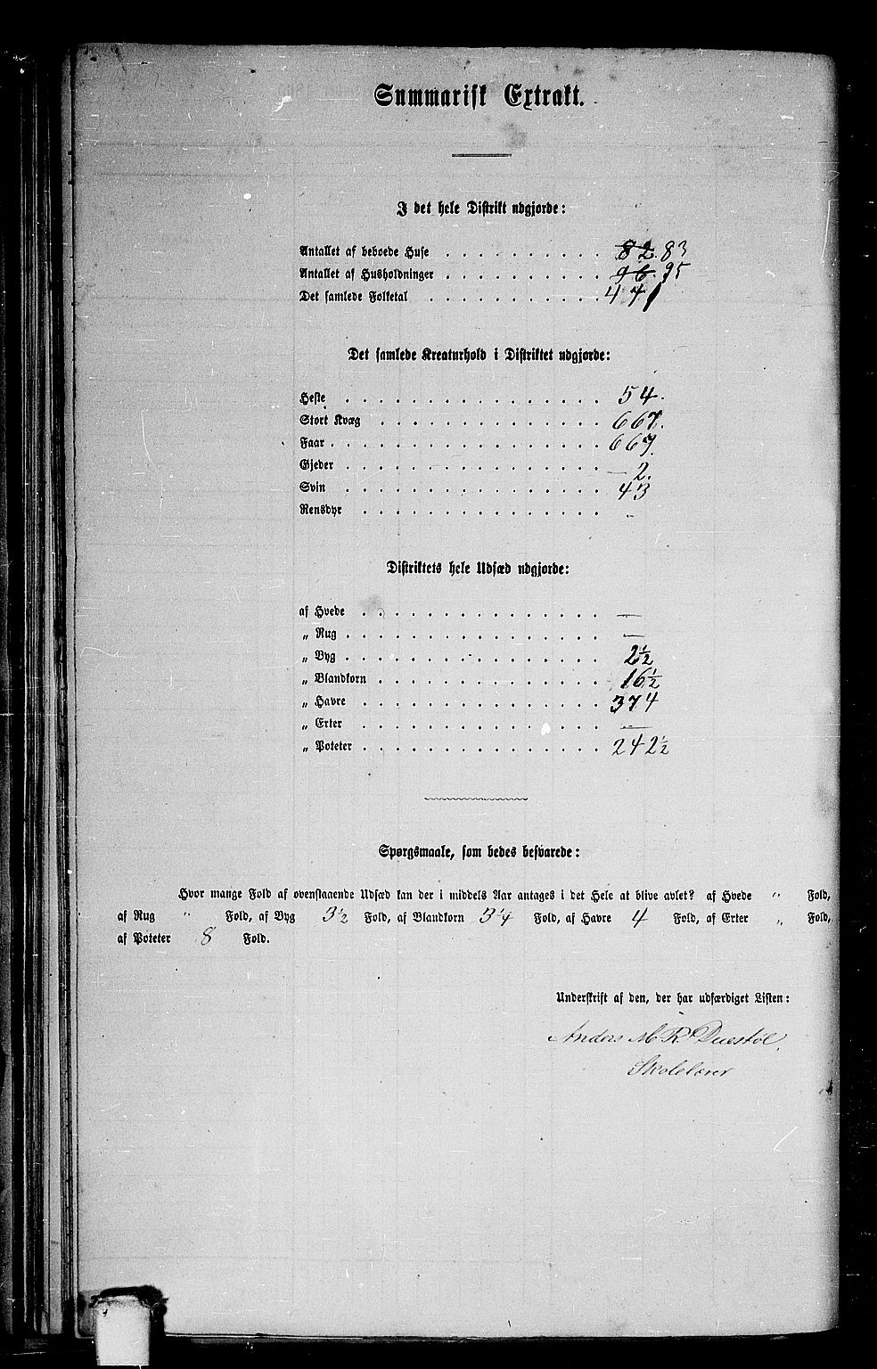 RA, Folketelling 1865 for 1522P Hjørundfjord prestegjeld, 1865, s. 59