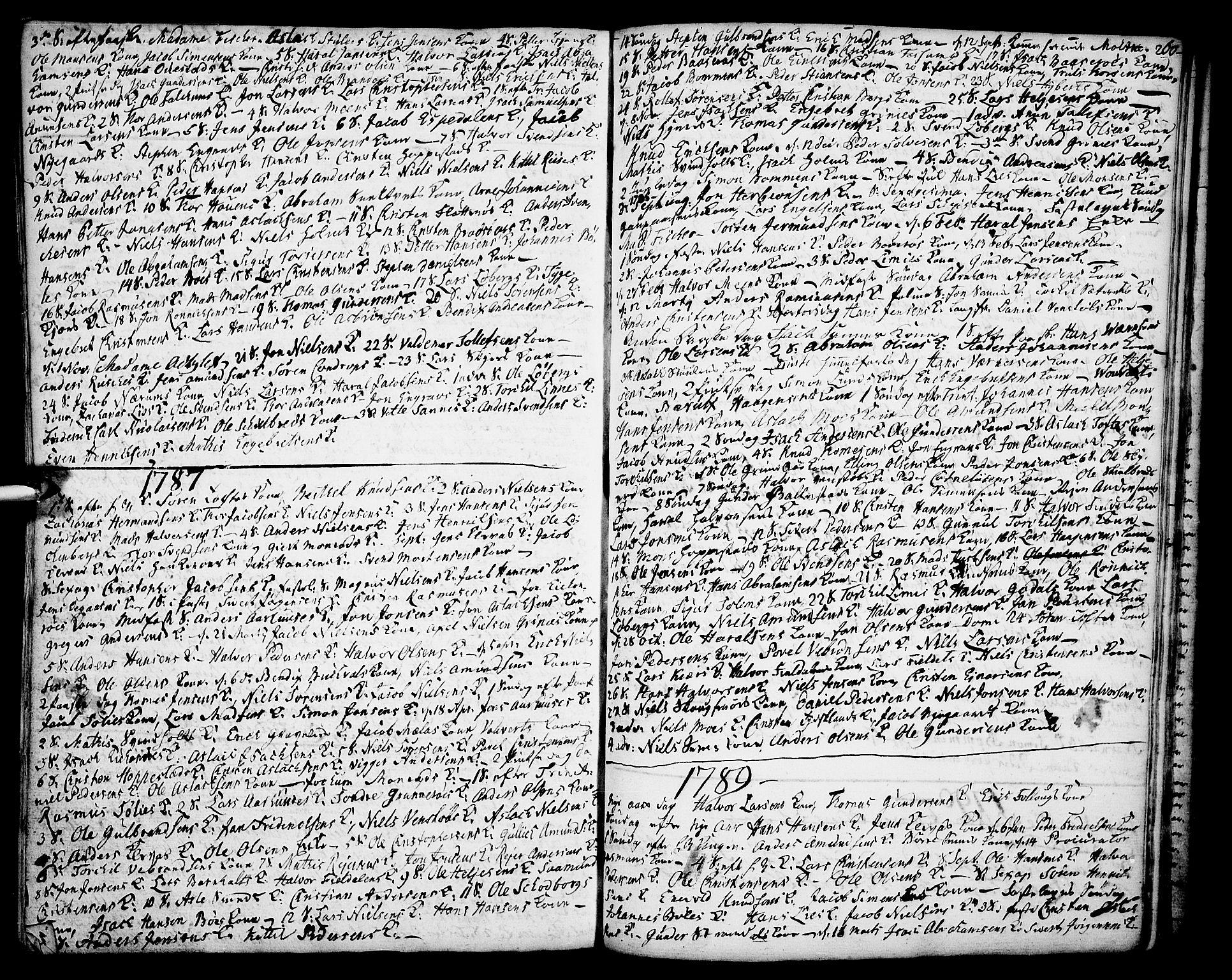 SAKO, Gjerpen kirkebøker, F/Fa/L0002: Ministerialbok nr. 2, 1747-1795, s. 260