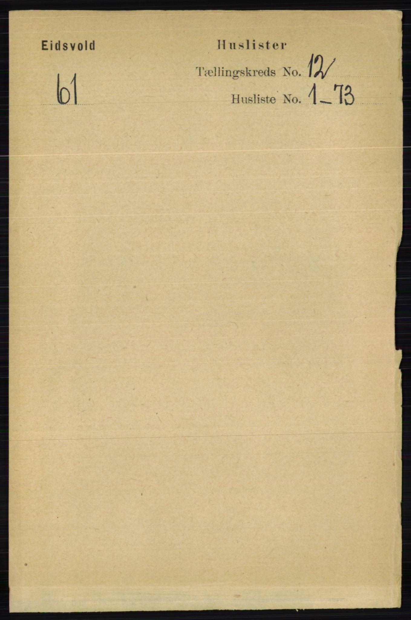 RA, Folketelling 1891 for 0237 Eidsvoll herred, 1891, s. 8406
