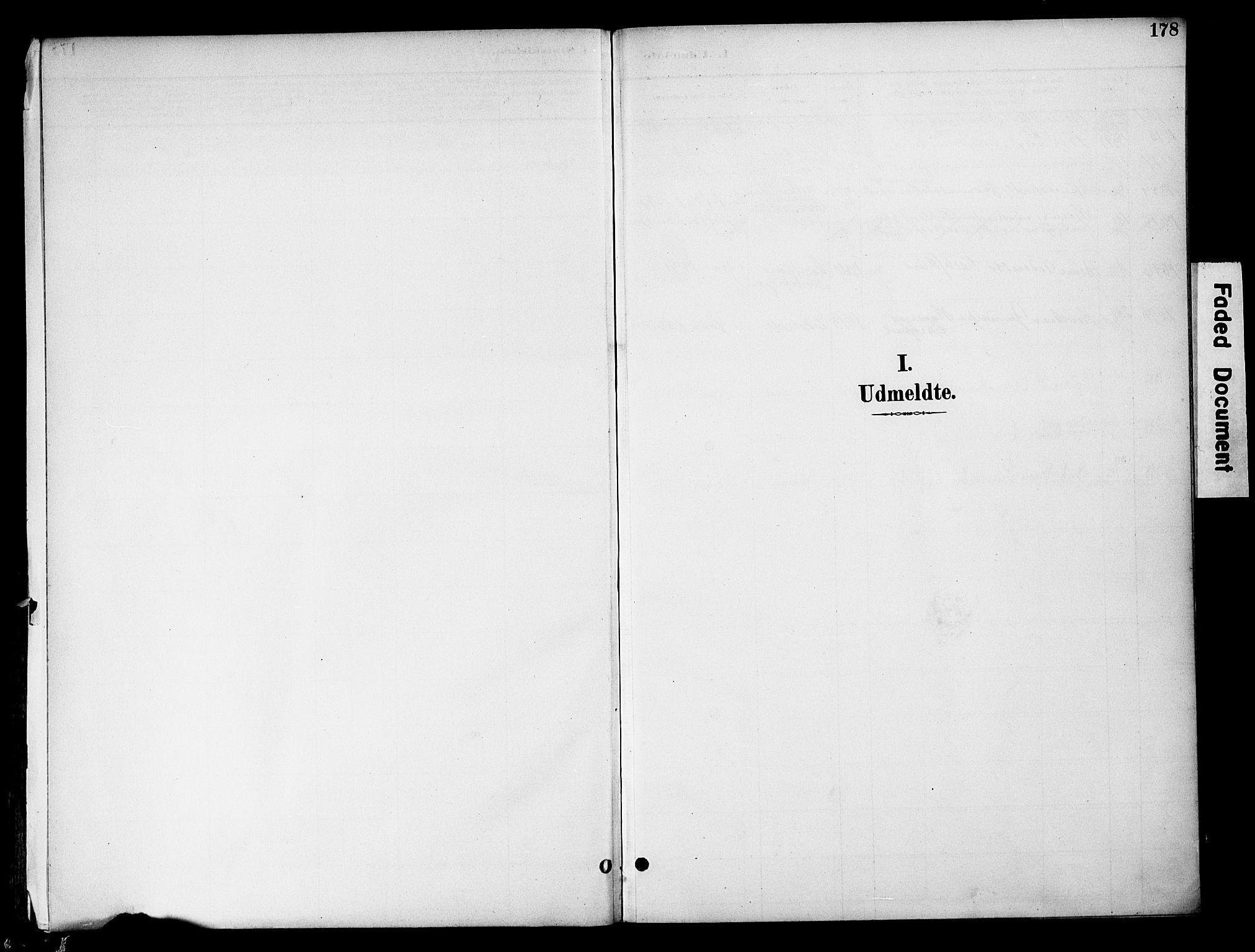 SAH, Gran prestekontor, Ministerialbok nr. 20, 1889-1899, s. 178