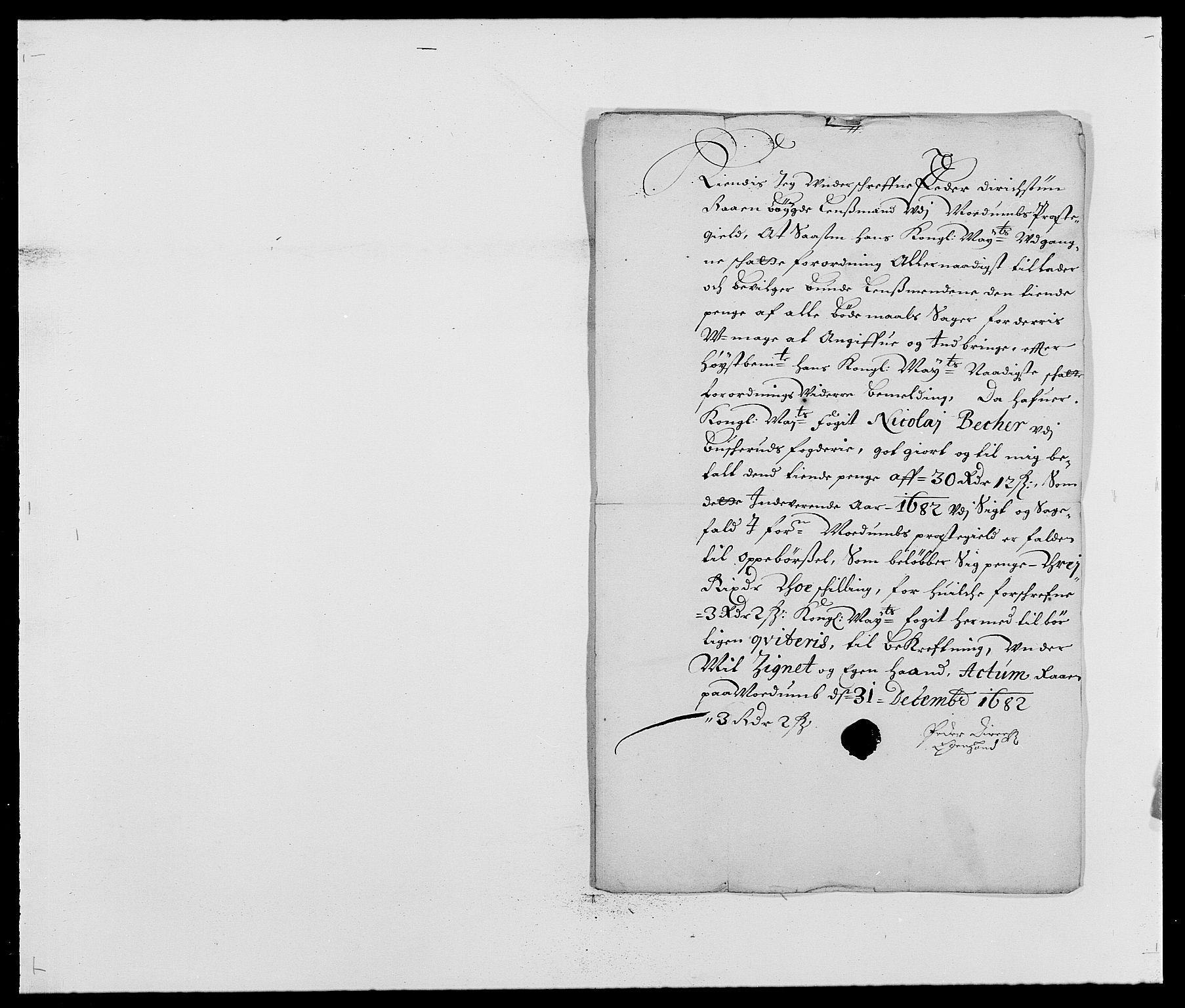 RA, Rentekammeret inntil 1814, Reviderte regnskaper, Fogderegnskap, R25/L1676: Fogderegnskap Buskerud, 1682, s. 218