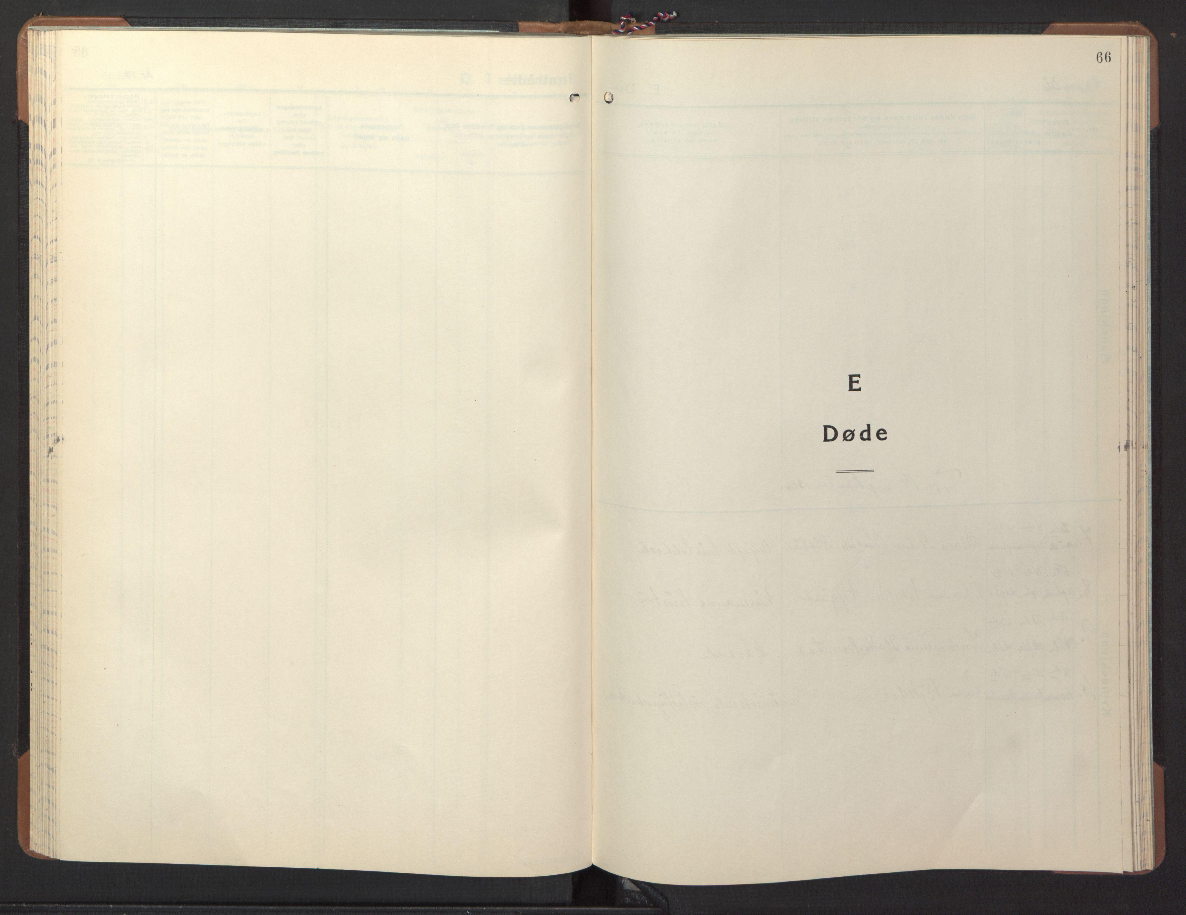 SAT, Ministerialprotokoller, klokkerbøker og fødselsregistre - Nord-Trøndelag, 746/L0456: Klokkerbok nr. 746C02, 1936-1948, s. 66