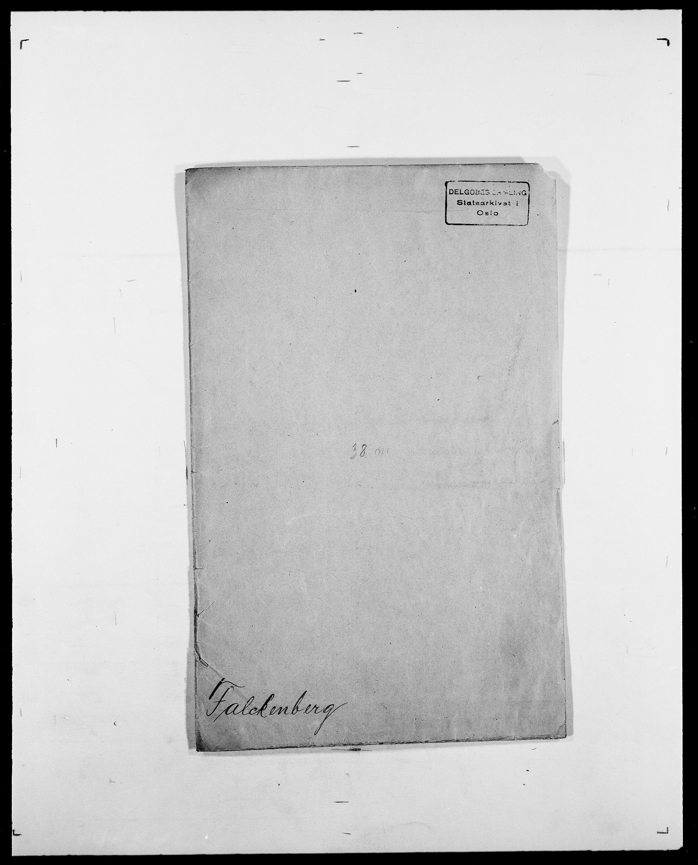 SAO, Delgobe, Charles Antoine - samling, D/Da/L0011: Fahlander - Flood, Flod, s. 97